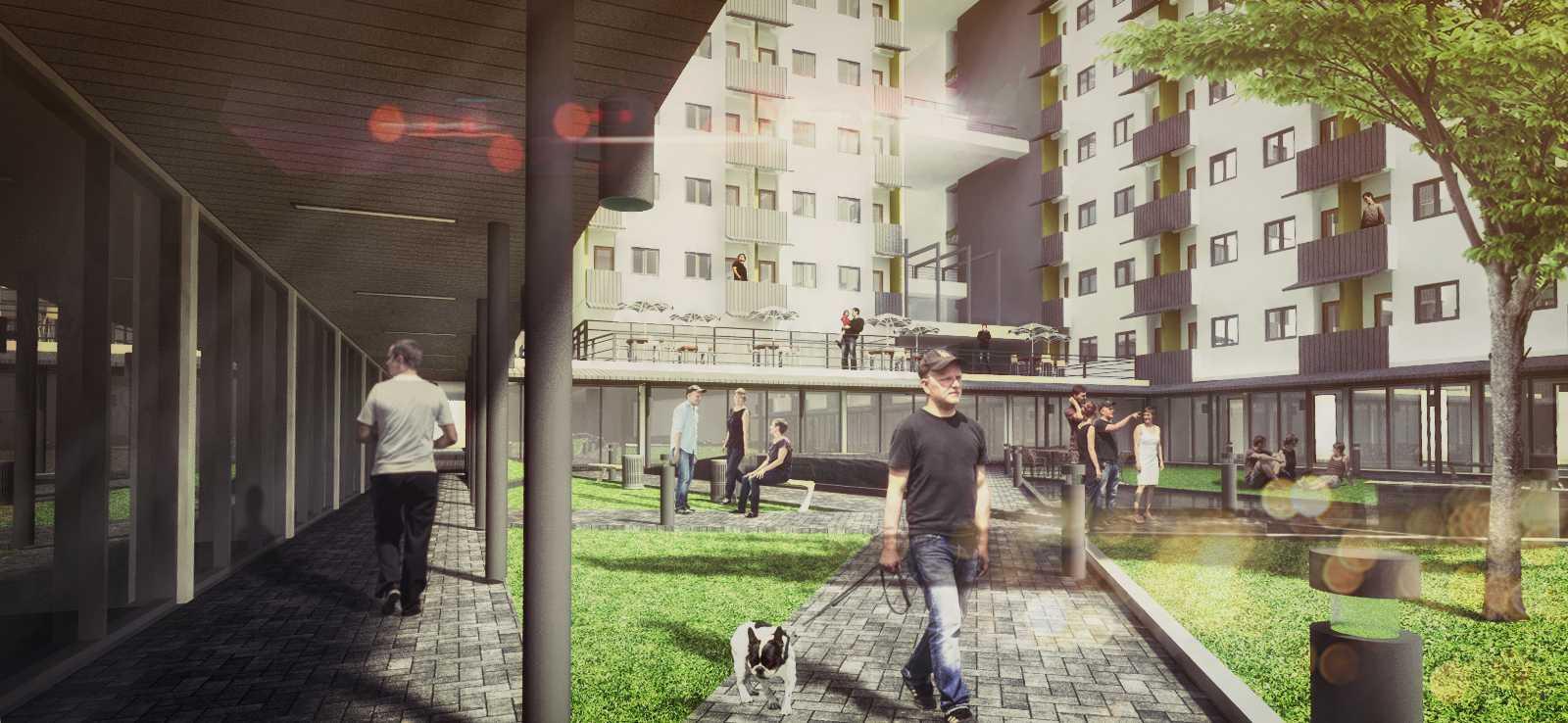 Dimas Andrea Adedepark & Apartment Cibitung Cibitung, Bekasi Cibitung, Bekasi 140415Cibitung-Exteriorview-02 Modern  23458