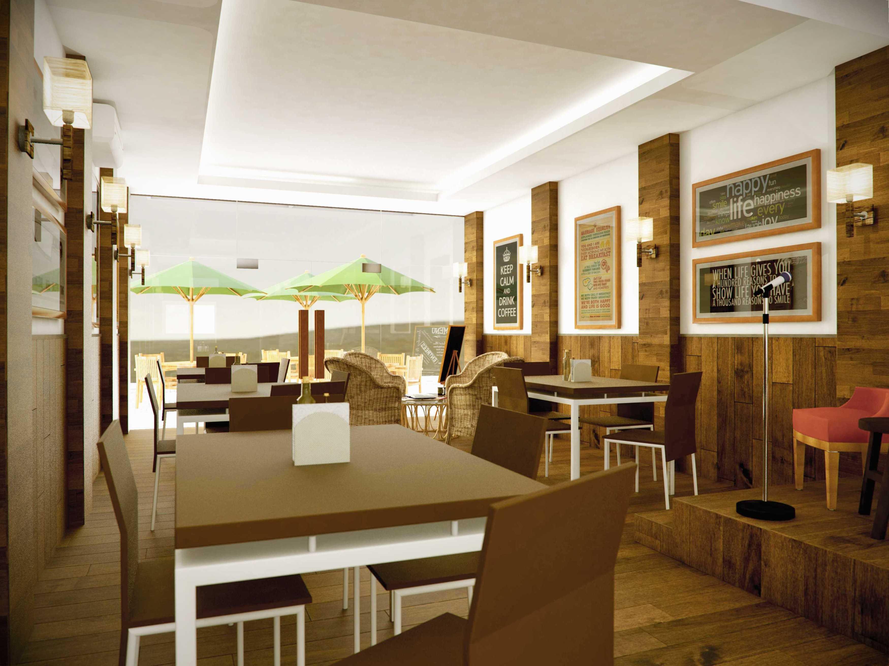 Dimas Andrea Wu's Bistro Cengkareng Cengkareng Dining Area Minimalis,modern  23662