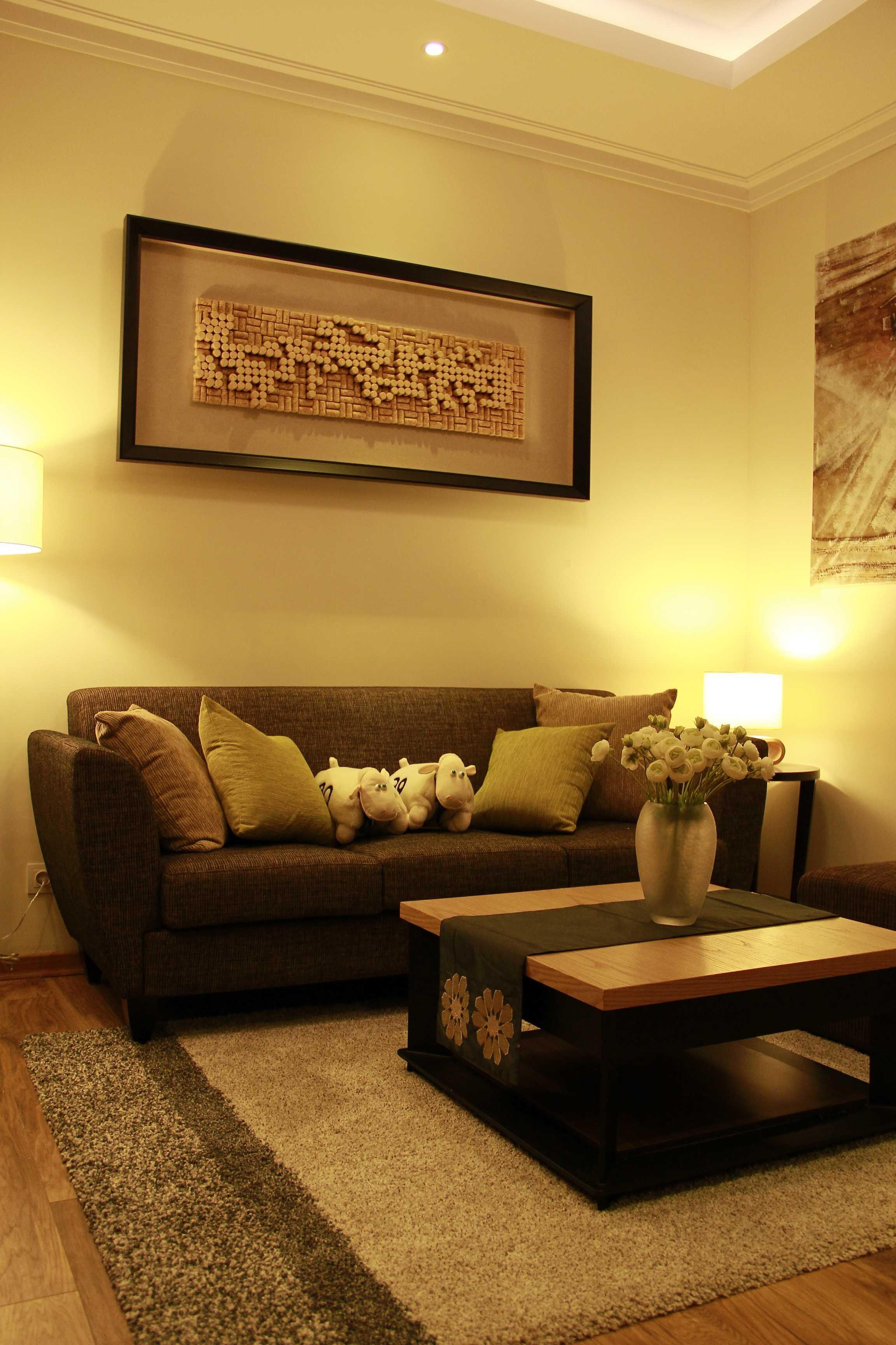 Dimas Andrea 2Br Unit - Residence 8 Jakarta Selatan Jakarta Selatan Living Room Modern  23674