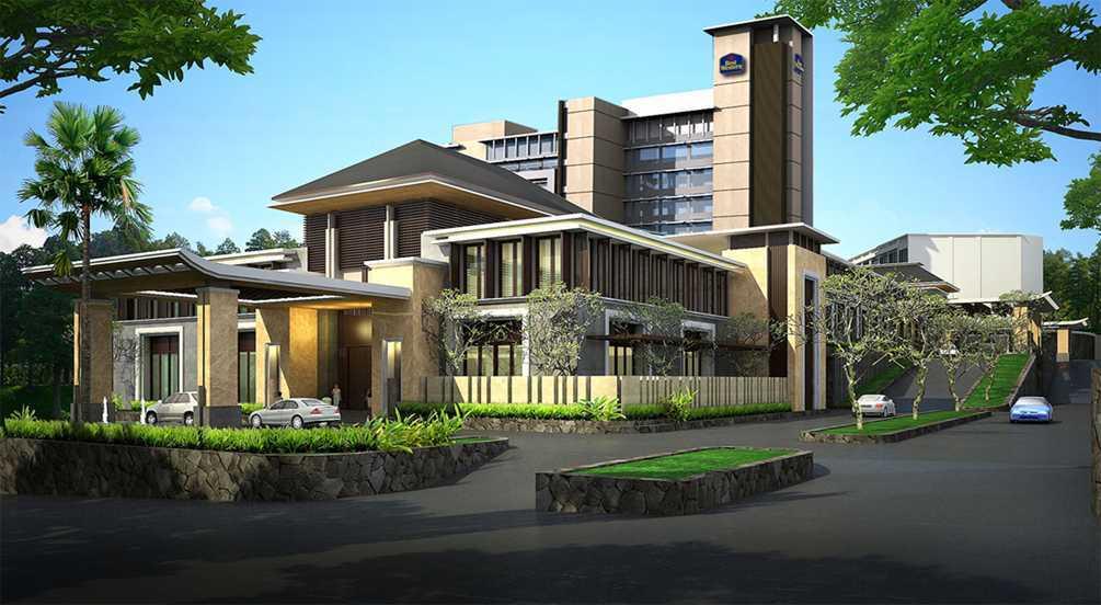 Bral Architect Mercure Hotel Setiabudi Jl. Dr. Setiabudhi No. 269 - 275, Kel. Cidadap, Kec. Sukasari, Isola, Sukasari, Kota Bandung, Jawa Barat 40154, Indonesia Setiabudi, Bandung Facade Tropis  24857