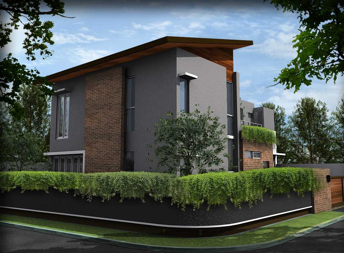 Bral Architect Bintaro House Bintaro, Pesanggrahan, South Jakarta City, Jakarta, Indonesia Bintaro Front View Modern  24849