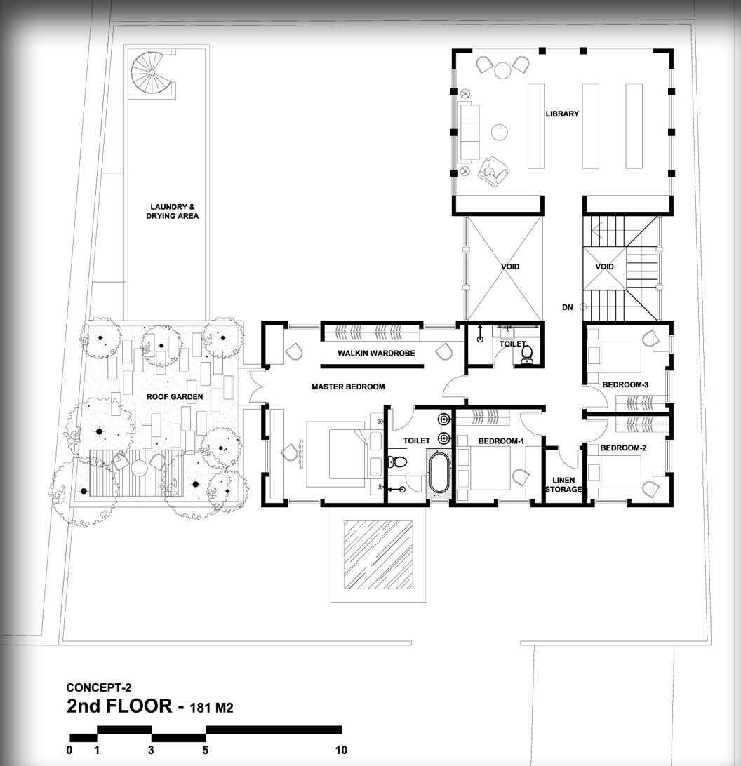 Indra Gunadi British House At Cimindi Babakan Ciamis, Sumur Bandung, Bandung City, West Java 40117, Indonesia Cimindi, Bandung Denah Modern  24841