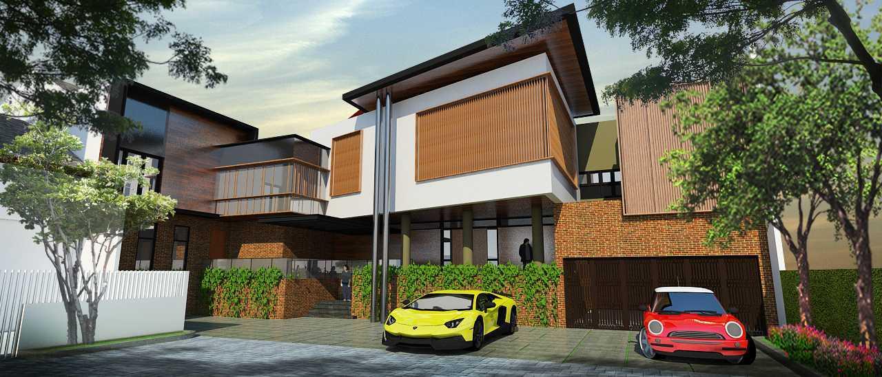 Indra Gunadi Kpbd Residence West Jakarta, Kebon Jeruk, West Jakarta City, Jakarta, Indonesia Jakarta Contemporary Style 1 Kontemporer  24905