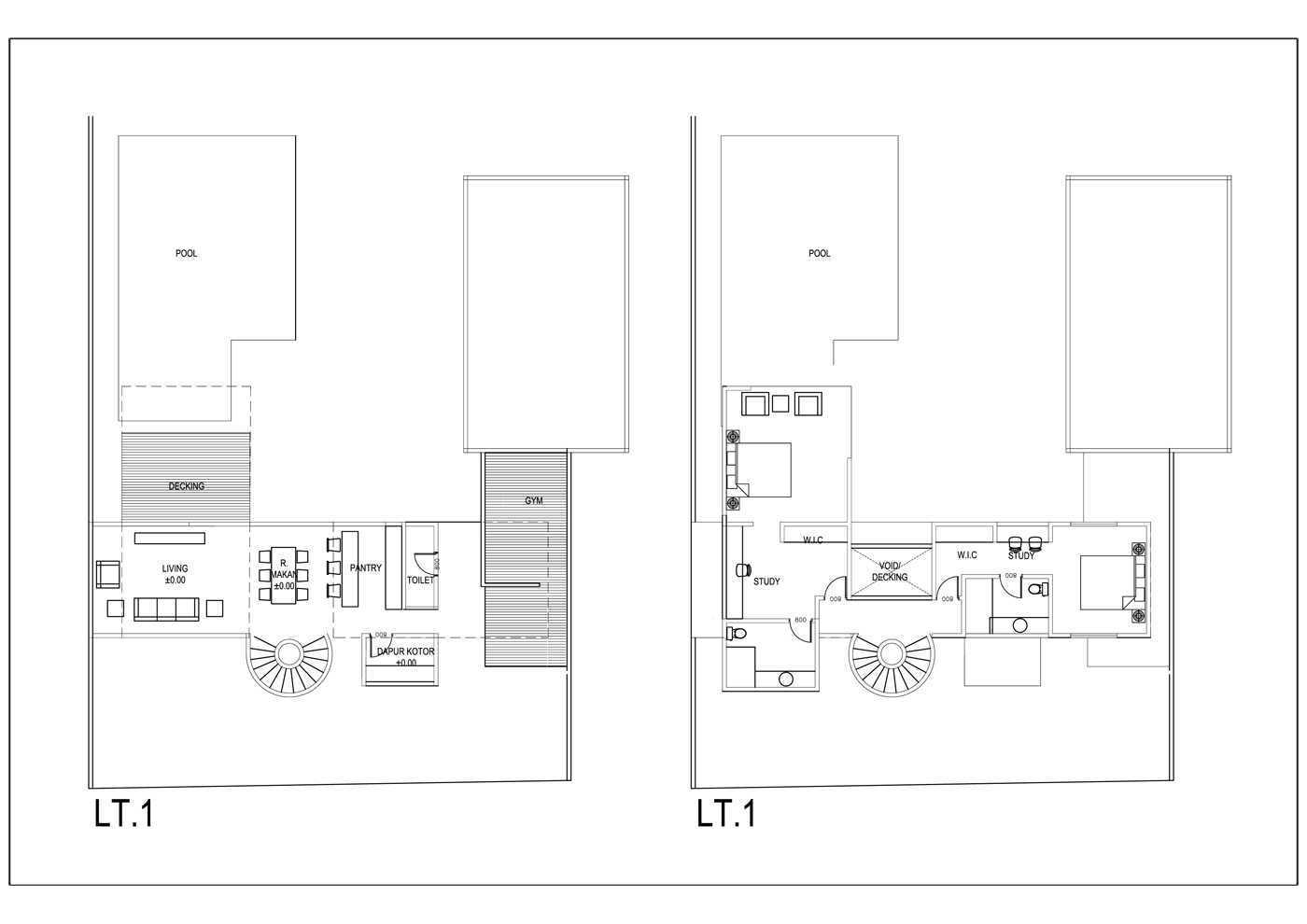 Bral Architect Semarang Residence Semarang, Semarang City, Central Java, Indonesia Semarang Semarang-Layout Modern  25799