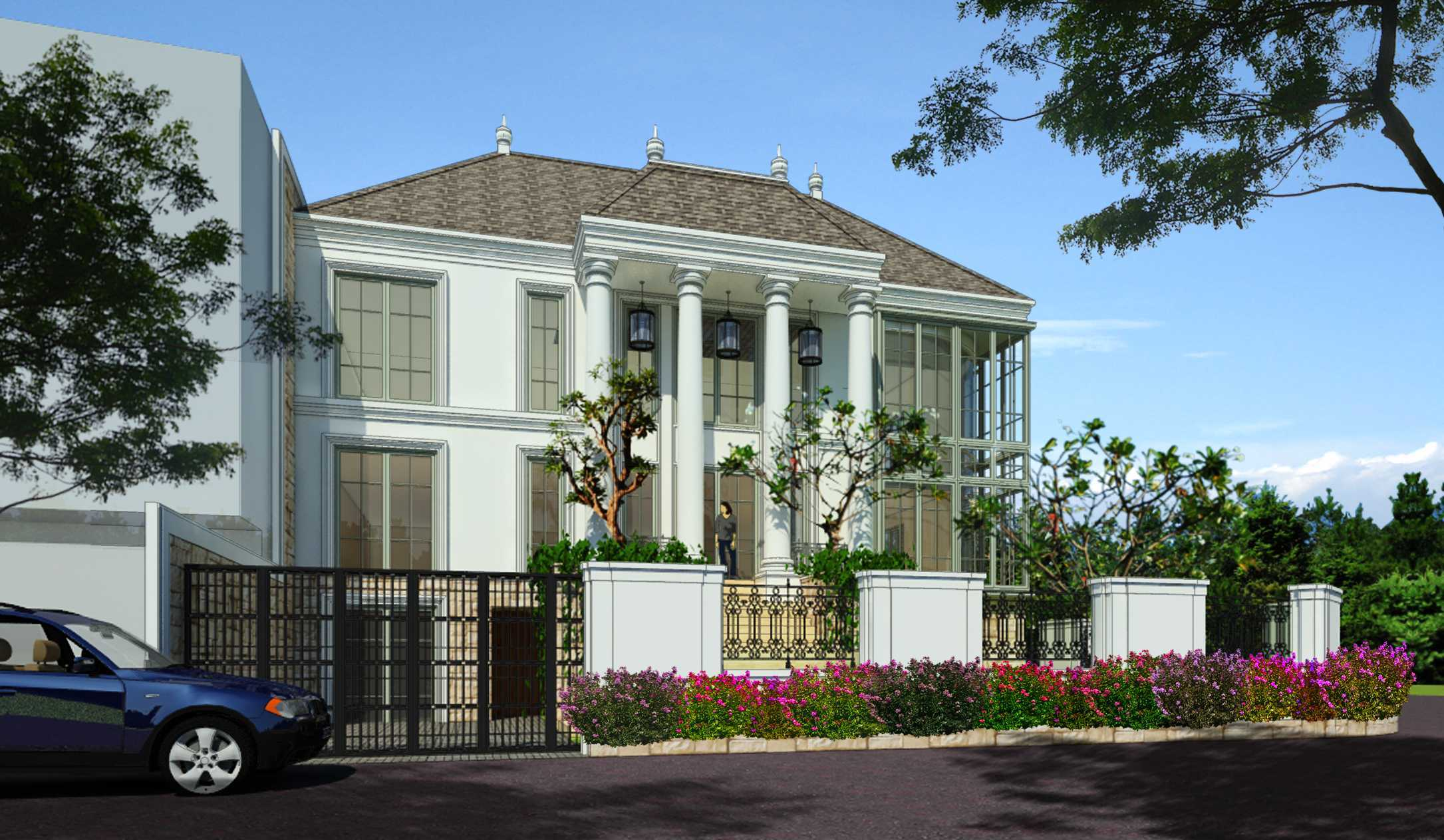 Indra Gunadi Kelapa Gading Residence Kelapa Gading, North Jakarta City, Jakarta, Indonesia Kelapa Gading, Jakarta Facade Klasik  25826