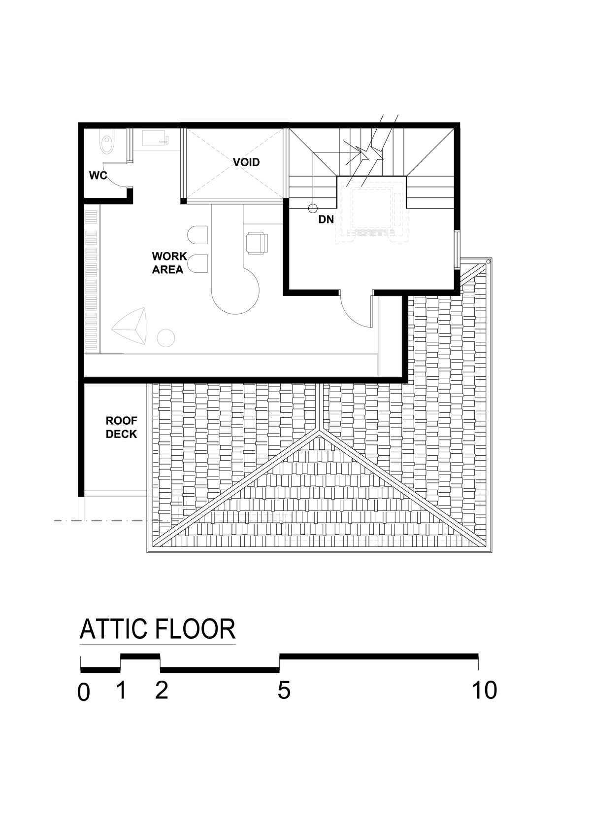 Bral Architect Tebet Residence Tebet, South Jakarta City, Jakarta, Indonesia Tebet, Jakarta Tebet-Level-Attic Kontemporer  25833