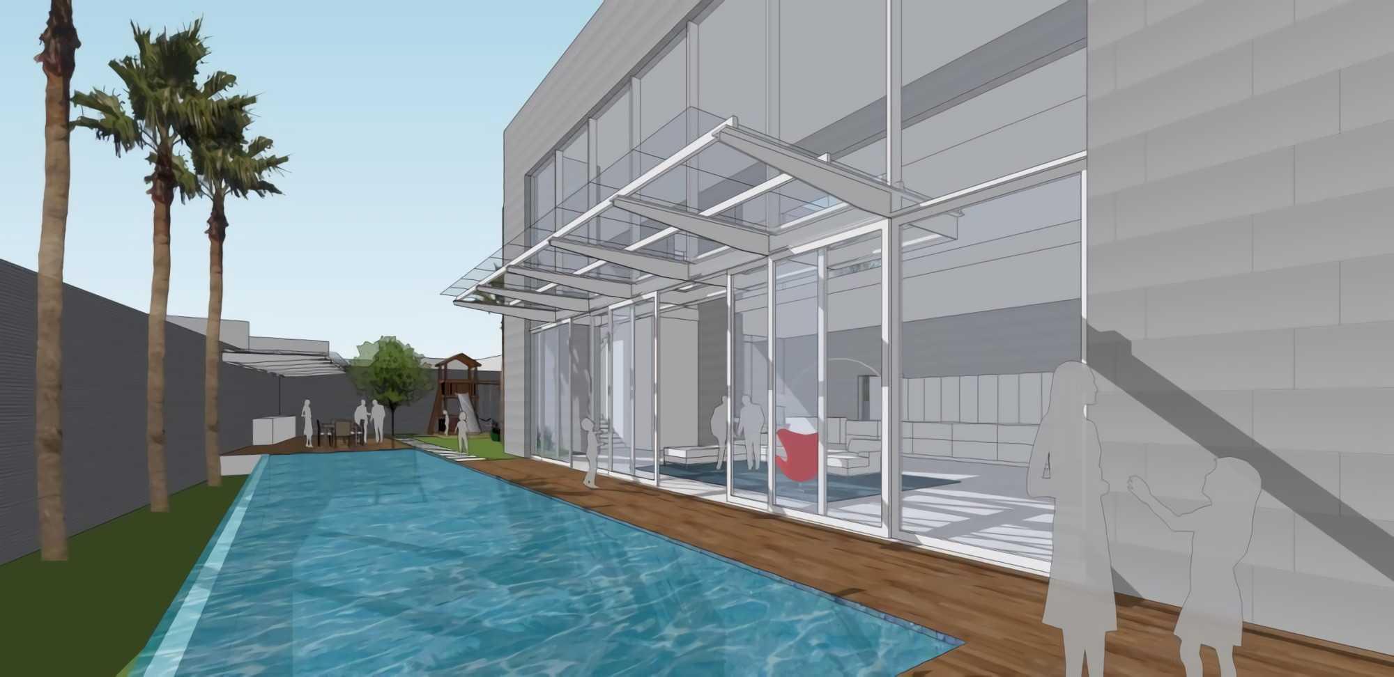 Ivan Priatman Architect Ptys Residence Jakarta Selatan Jakarta Selatan Swimming Pool Area   23769