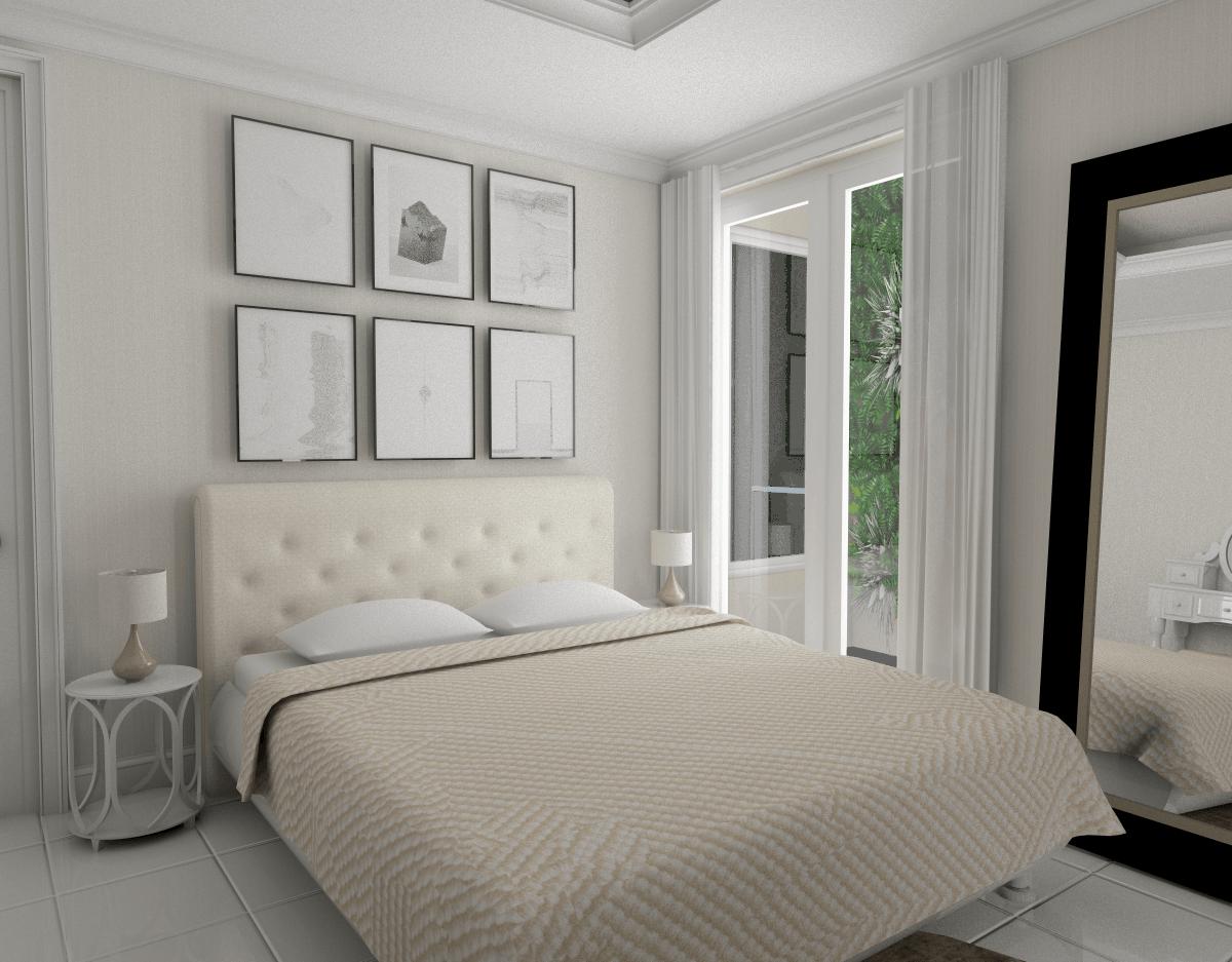 Ark.tekt Design Studio Rm House Buncit Indah, Jakarta Buncit Indah, Jakarta Bedroom Modern  25254