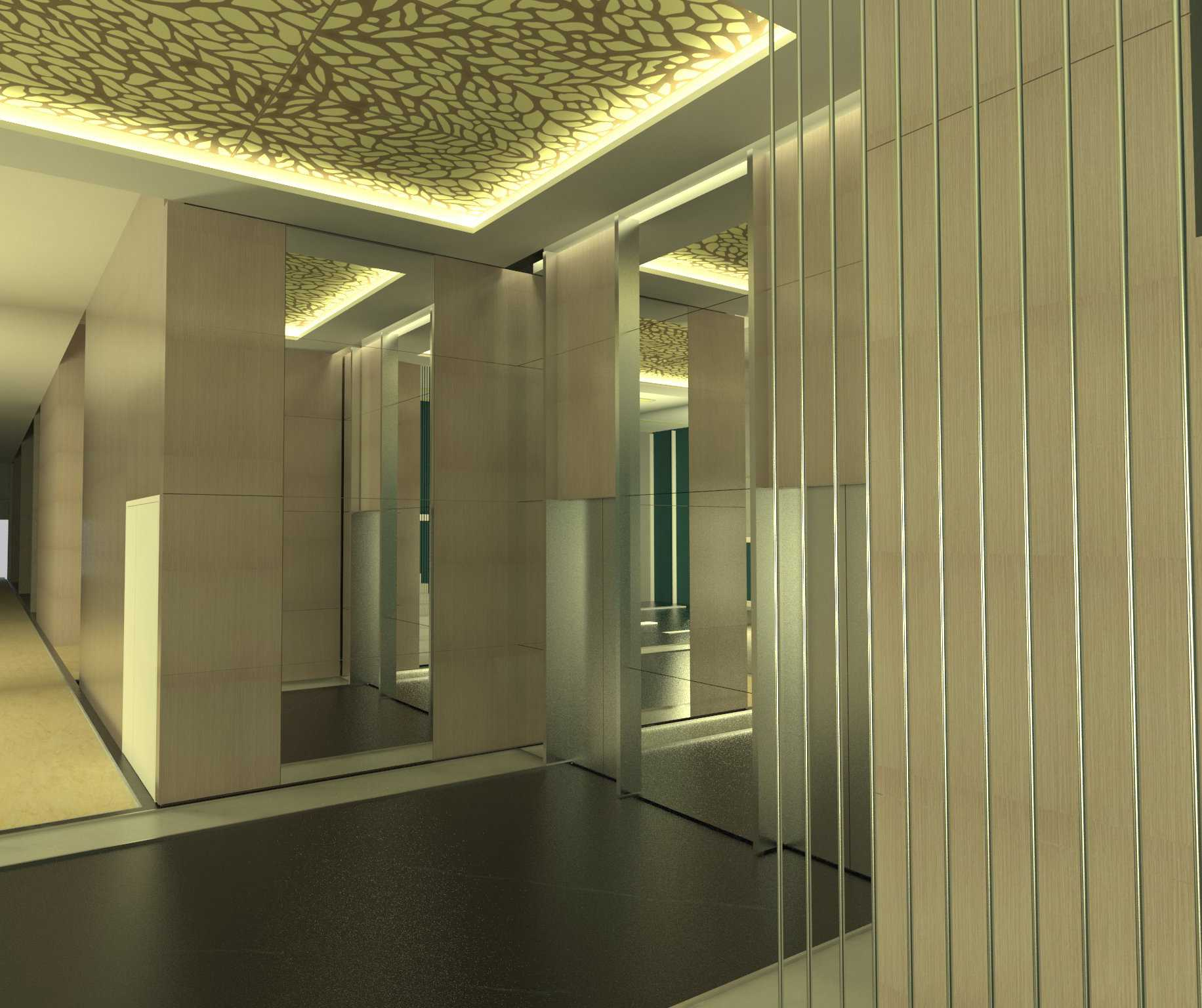 X3M Architects Unity Building Serpong Serpong Lobby-Unity-Tower-Hi-Res Modern  25360
