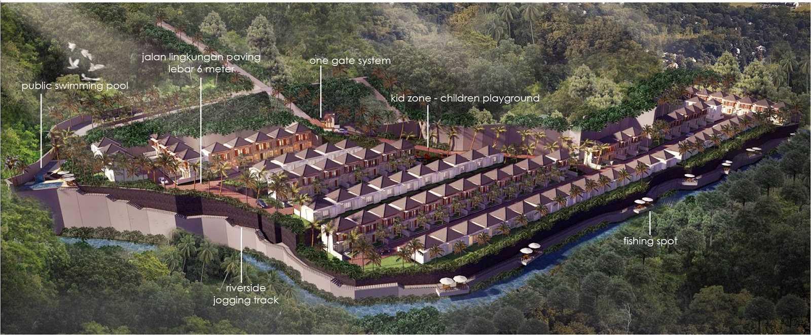 Hg Architects & Designers Associates Denbantas Riverview Residences Tabanan, Bali Tabanan, Bali Bird Eye View   24190