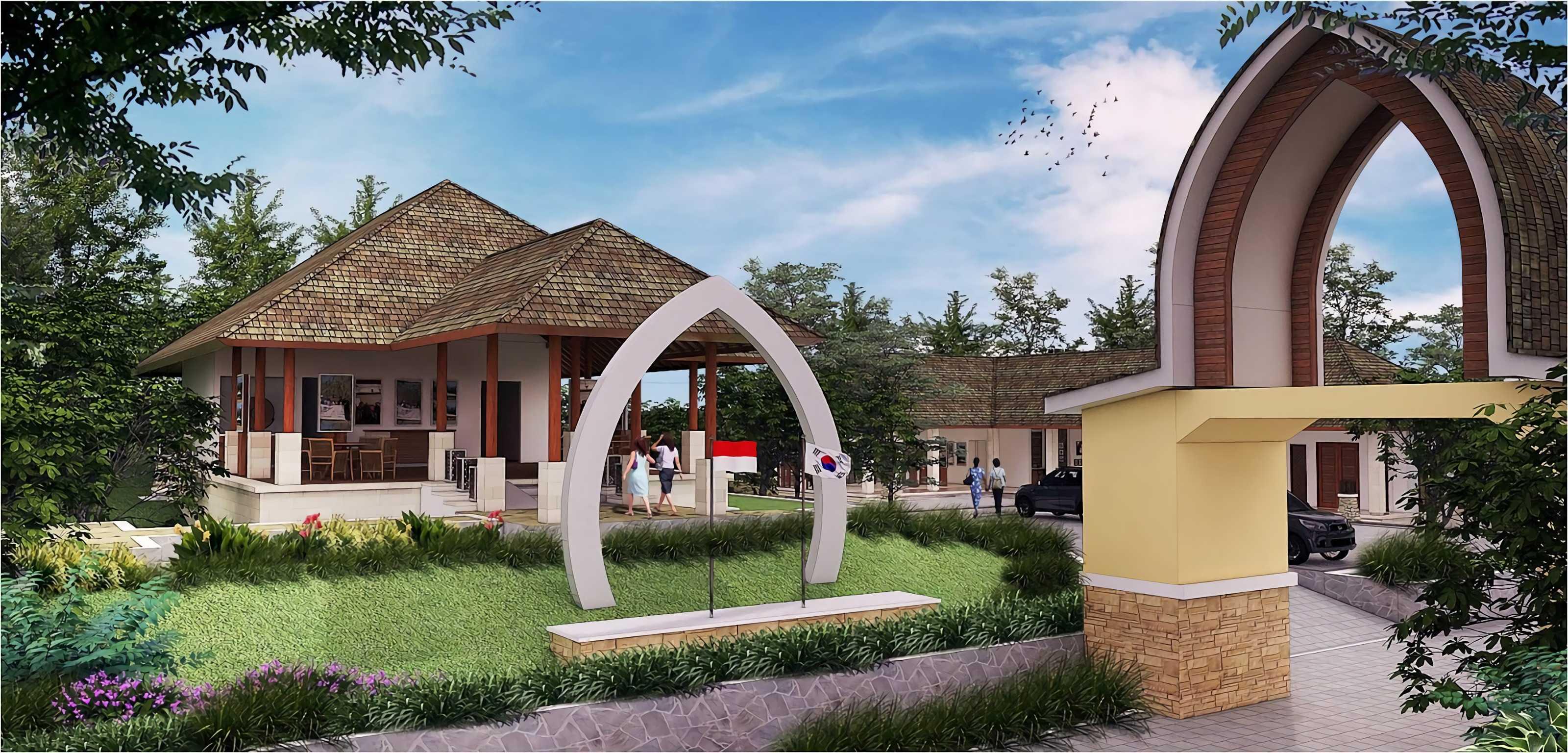 Hg Architects & Designers Associates Taman Wisata Alam Gunung Tunak Lombok, Ntb Lombok, Ntb Front View   24347