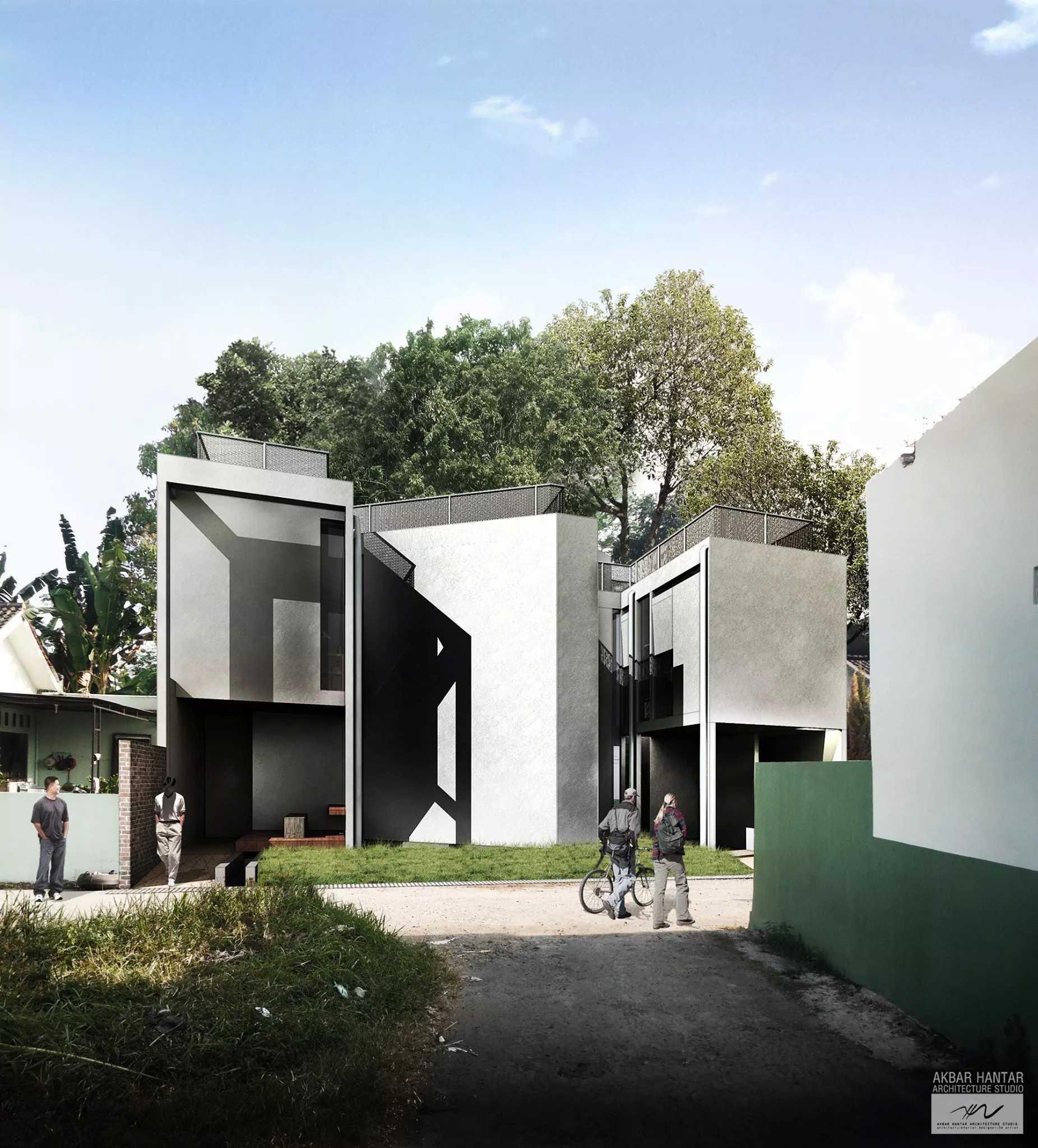 Akbar Hantar House At Purwokerto Purwokerto, Jawa Tengah Purwokerto, Jawa Tengah Front View   24266