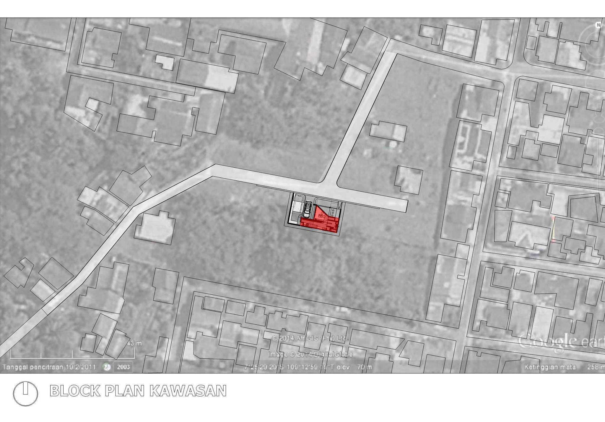 Akbar Hantar House At Purwokerto Purwokerto, Jawa Tengah Purwokerto, Jawa Tengah Masterplan Context   24277