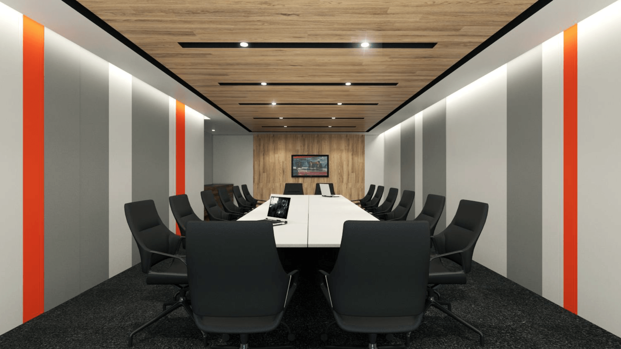 Gurkan Izci Nike Office Expansion Project Stock Exchange Building  Stock Exchange Building  Boardroom Modern  24731