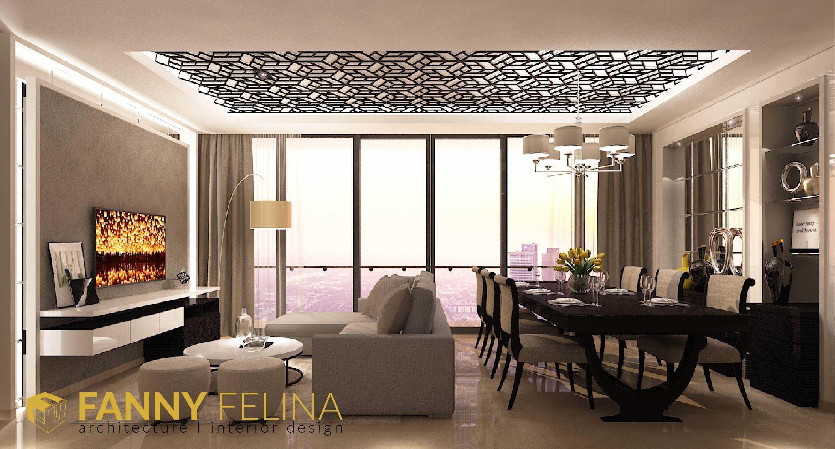 Fanny Felina Architecture & Interior Design Voila Apartment Surabaya, Surabaya City, East Java, Indonesia Surabaya, Surabaya City, East Java, Indonesia Voila-03 Kontemporer  41194