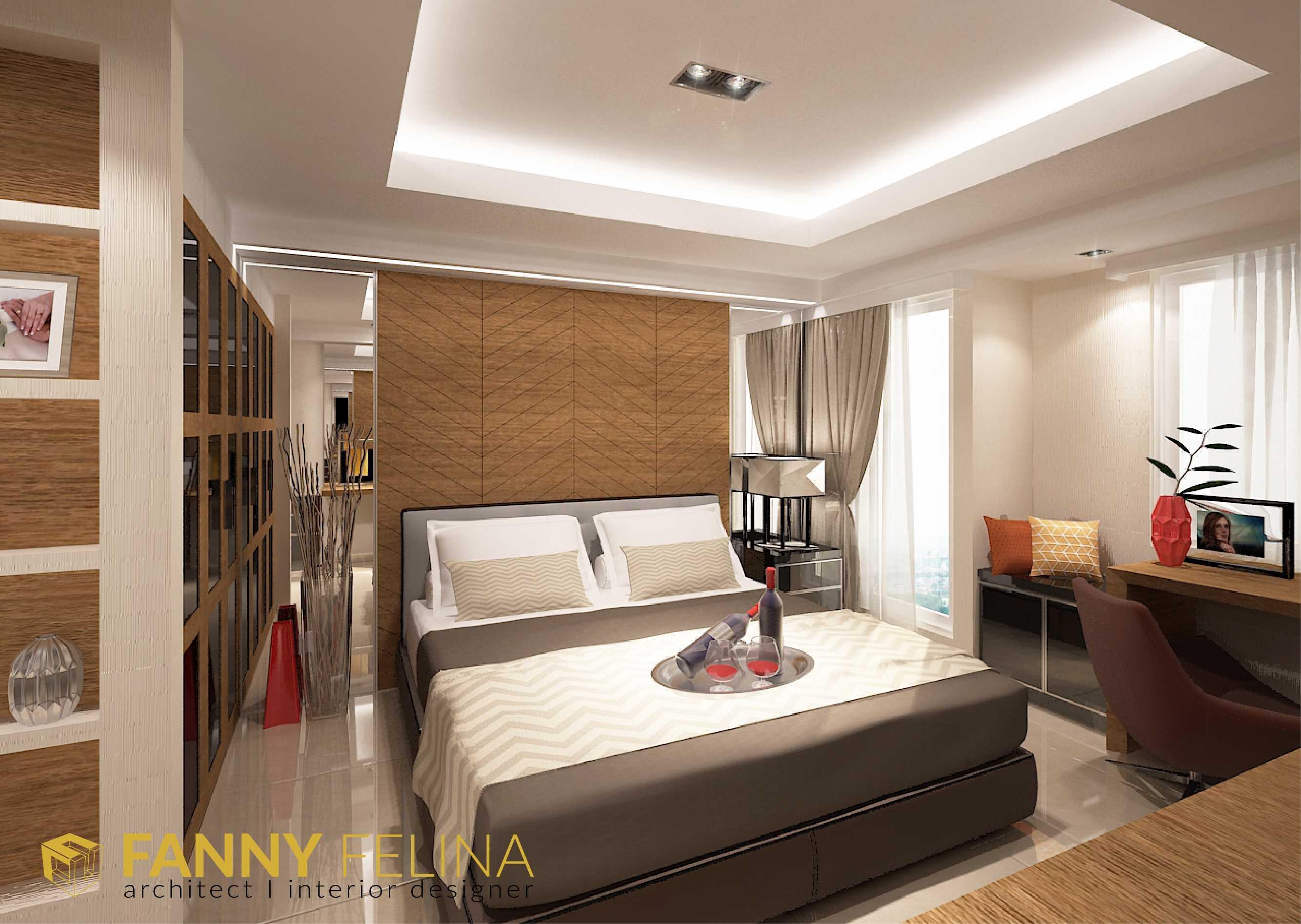 Fanny Felina Architecture & Interior Design Tanglin Studio Apartment Surabaya, Surabaya City, East Java, Indonesia Surabaya, Surabaya City, East Java, Indonesia Bedroom Kontemporer  36934
