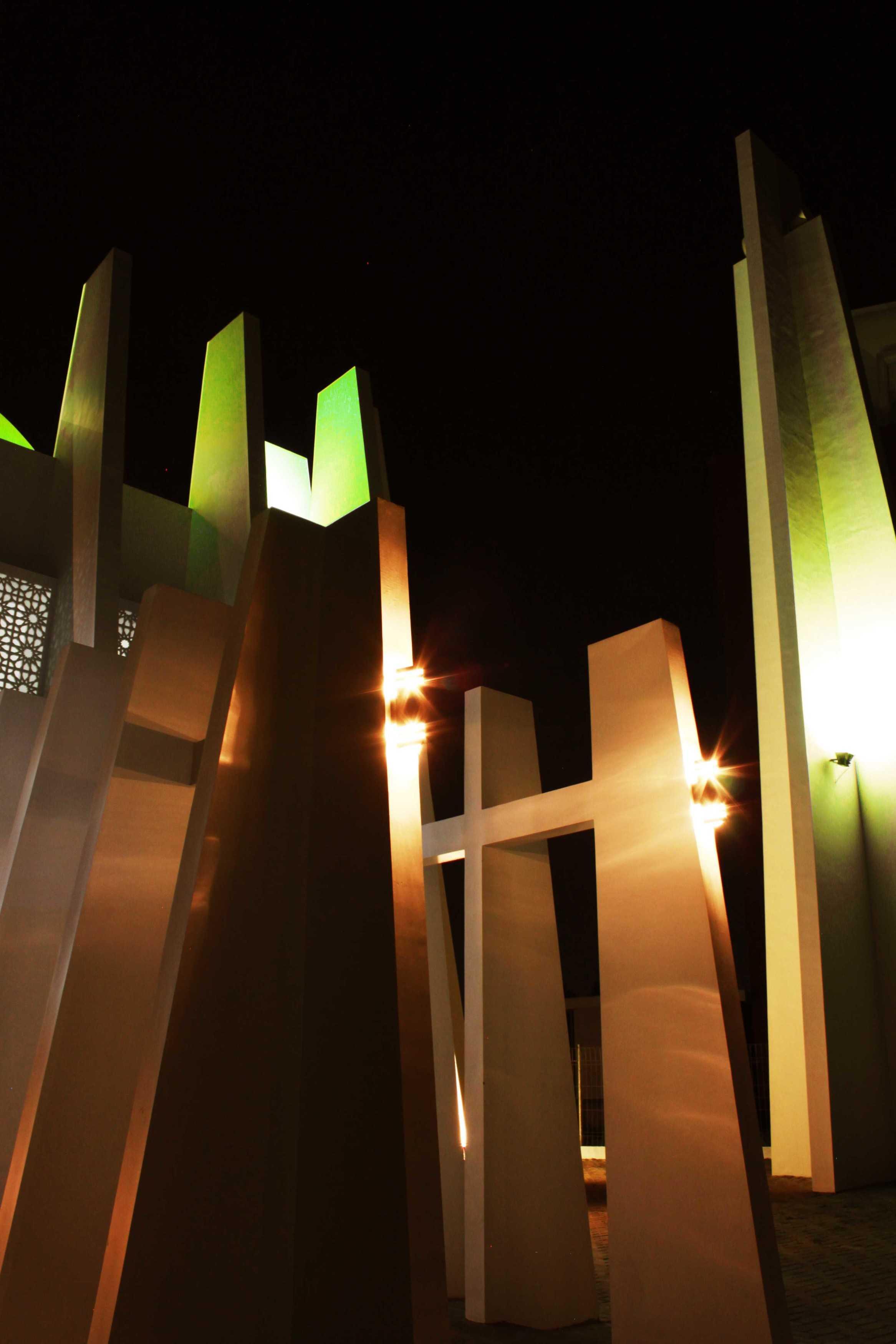Mahastudio & Partner Masjid Permata Qolbu Permata Mediterania Residence, Jakarta Barat Permata Mediterania Residence, Jakarta Barat 1St Phase Modern  24797