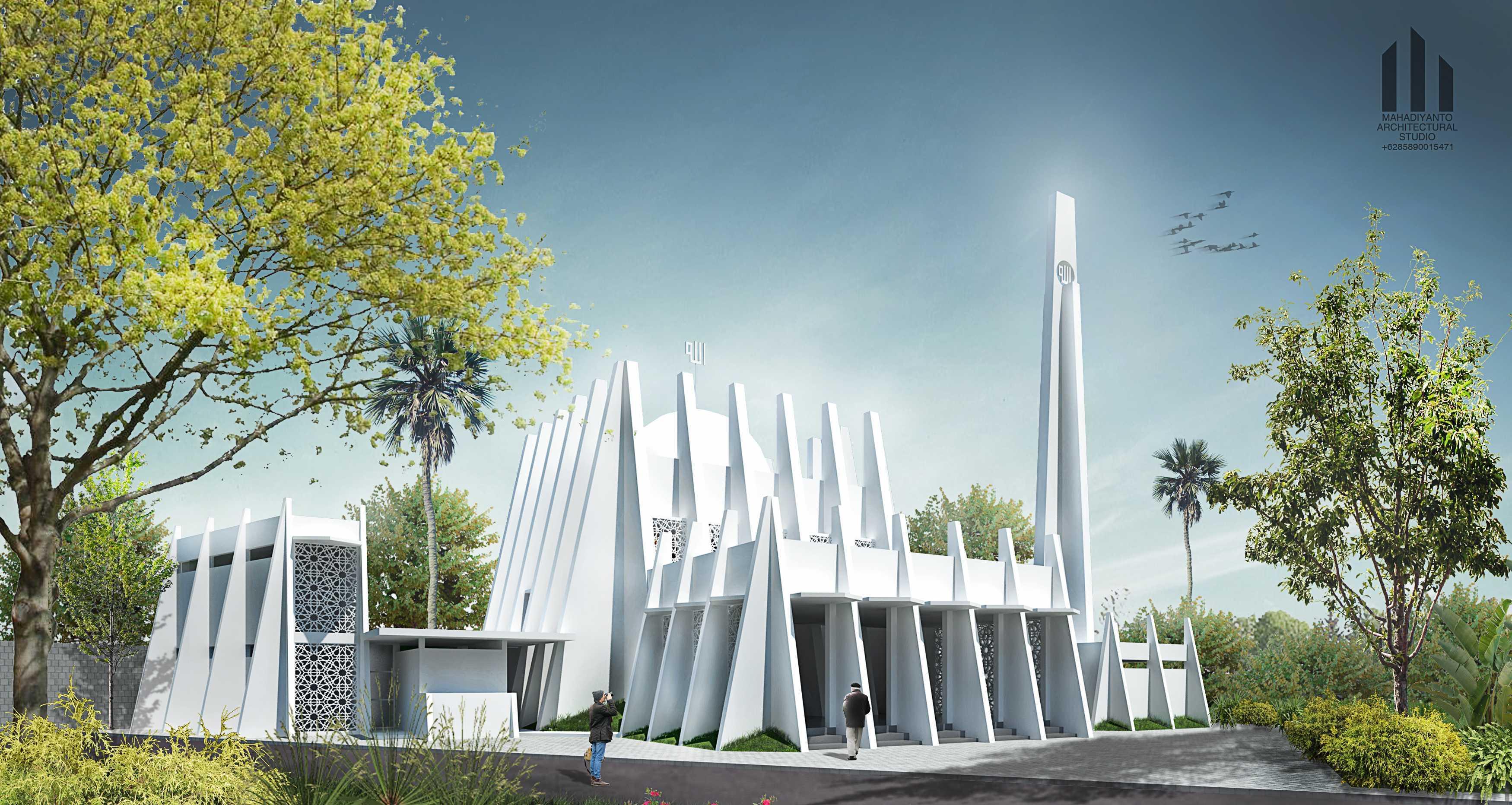 Mahastudio & Partner Masjid Permata Qolbu Permata Mediterania Residence, Jakarta Barat Permata Mediterania Residence, Jakarta Barat 2Nd Phase Modern  24809