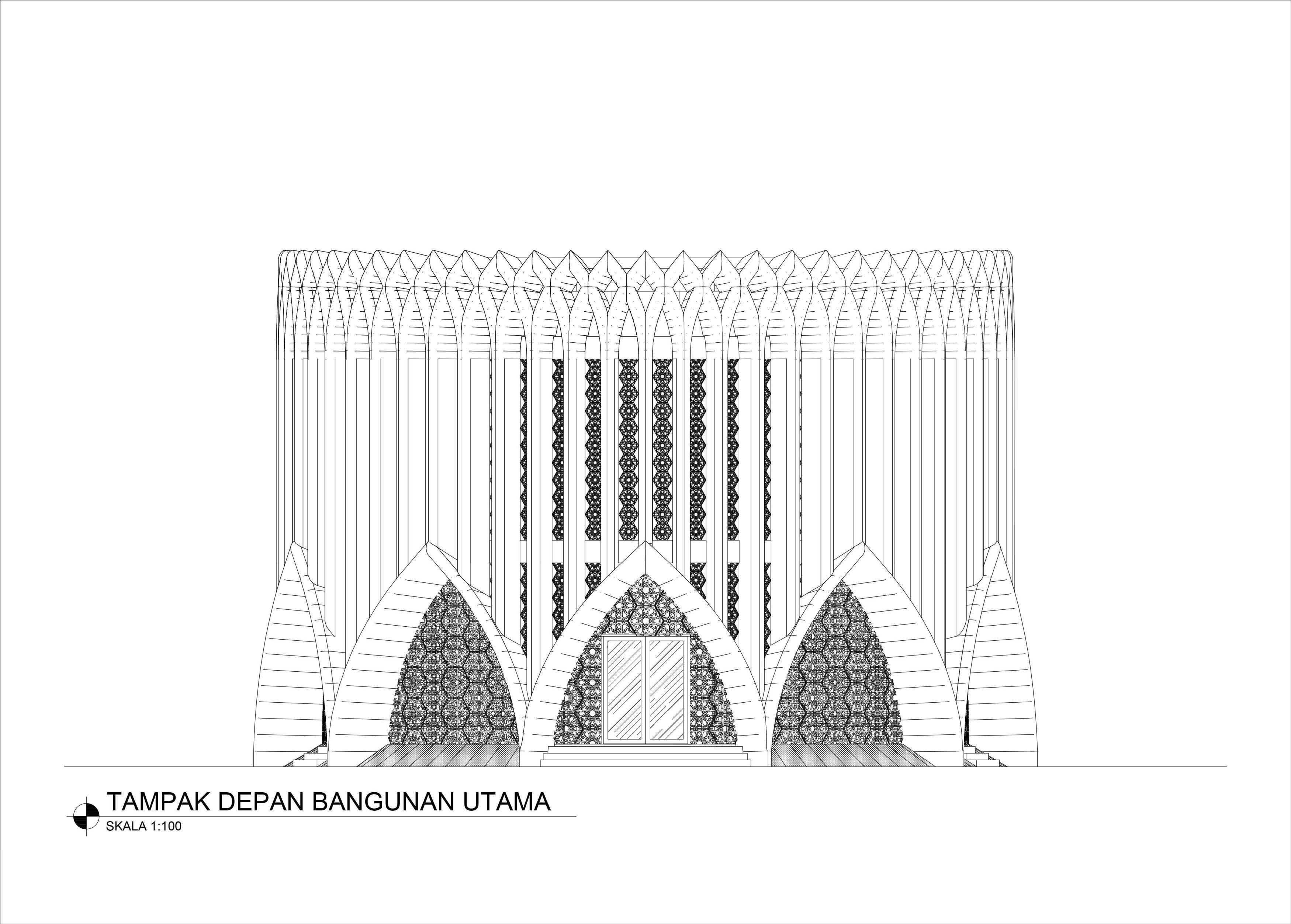 Mahastudio & Partner Masjid At Lolongok, Bogor Bogor, West Java, Indonesia Bogor, West Java, Indonesia Tampak-Muka Modern  30901