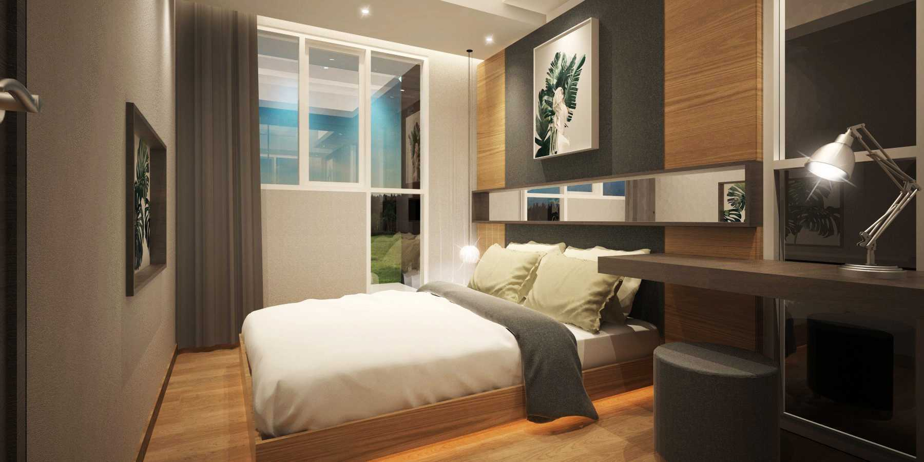 Mahastudio & Partner Show Unit Verdura Apartment Sentul, Babakan Madang, Bogor, West Java, Indonesia Sentul, Babakan Madang, Bogor, West Java, Indonesia Bedroom Kontemporer  32505