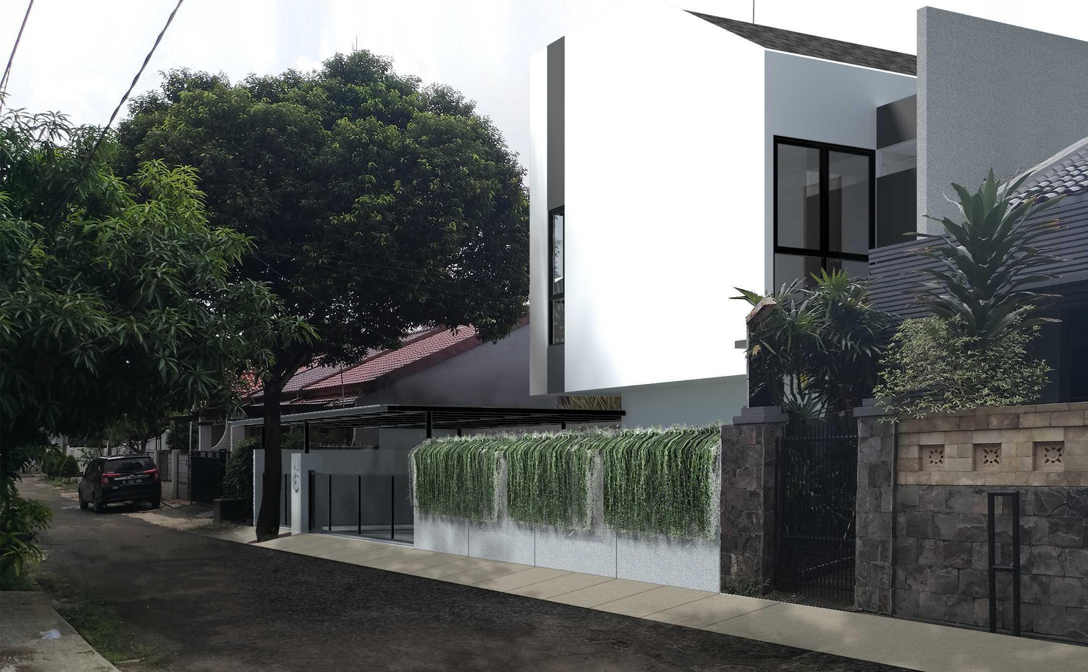 Mahastudio & Partner Renovasi Rumah Beiji Depok City, West Java, Indonesia Depok City, West Java, Indonesia Living Room + Dining Room Tropis  33337