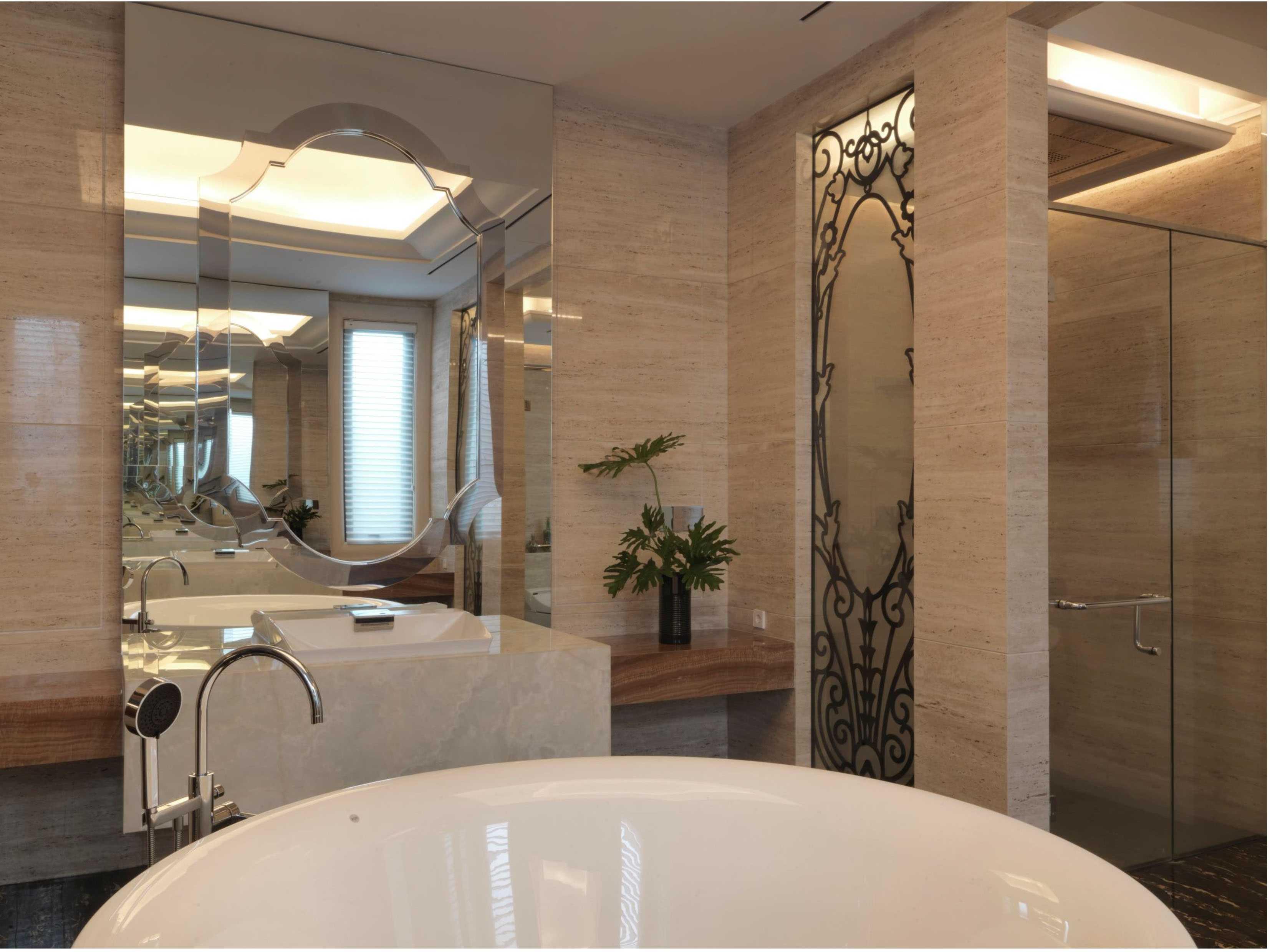 Studio Air Putih Dh_House Argopuro, Semarang Argopuro, Semarang Bathroom Klasik  25129