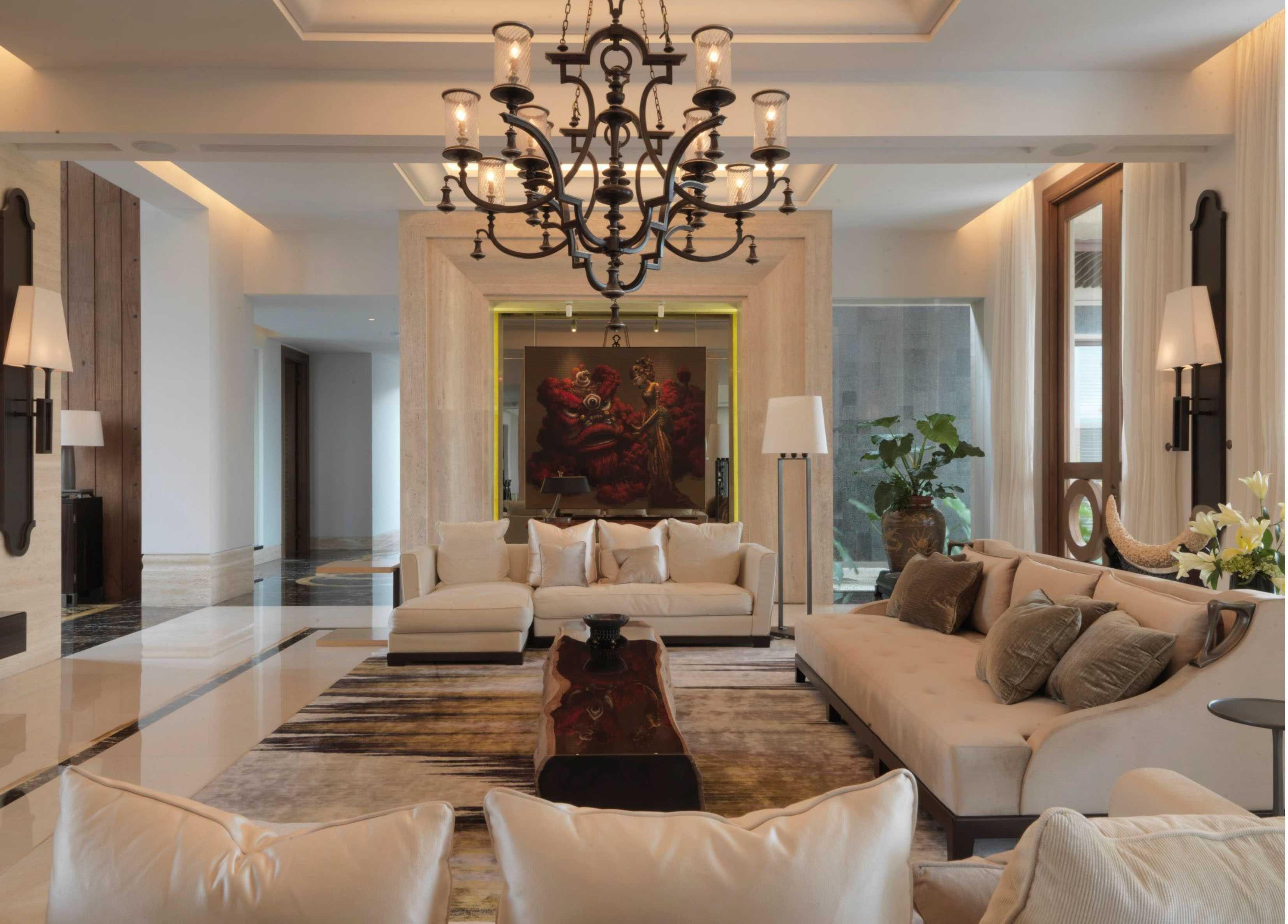 Studio Air Putih Dh_House Argopuro, Semarang Argopuro, Semarang Living Room Klasik  25131