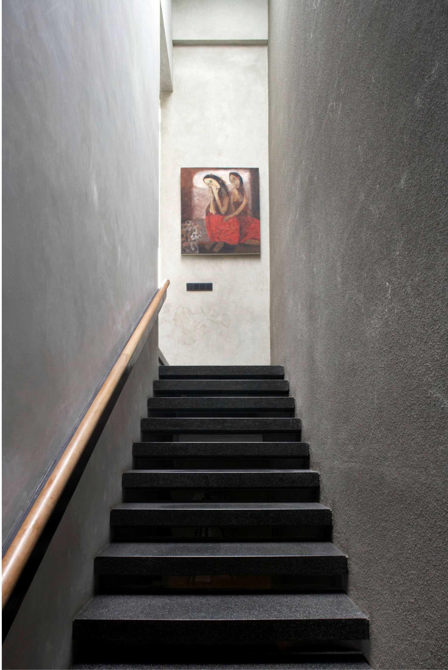 Studio Air Putih W_House Tulodong, Jakarta Tulodong, Jakarta Stairs View   25174