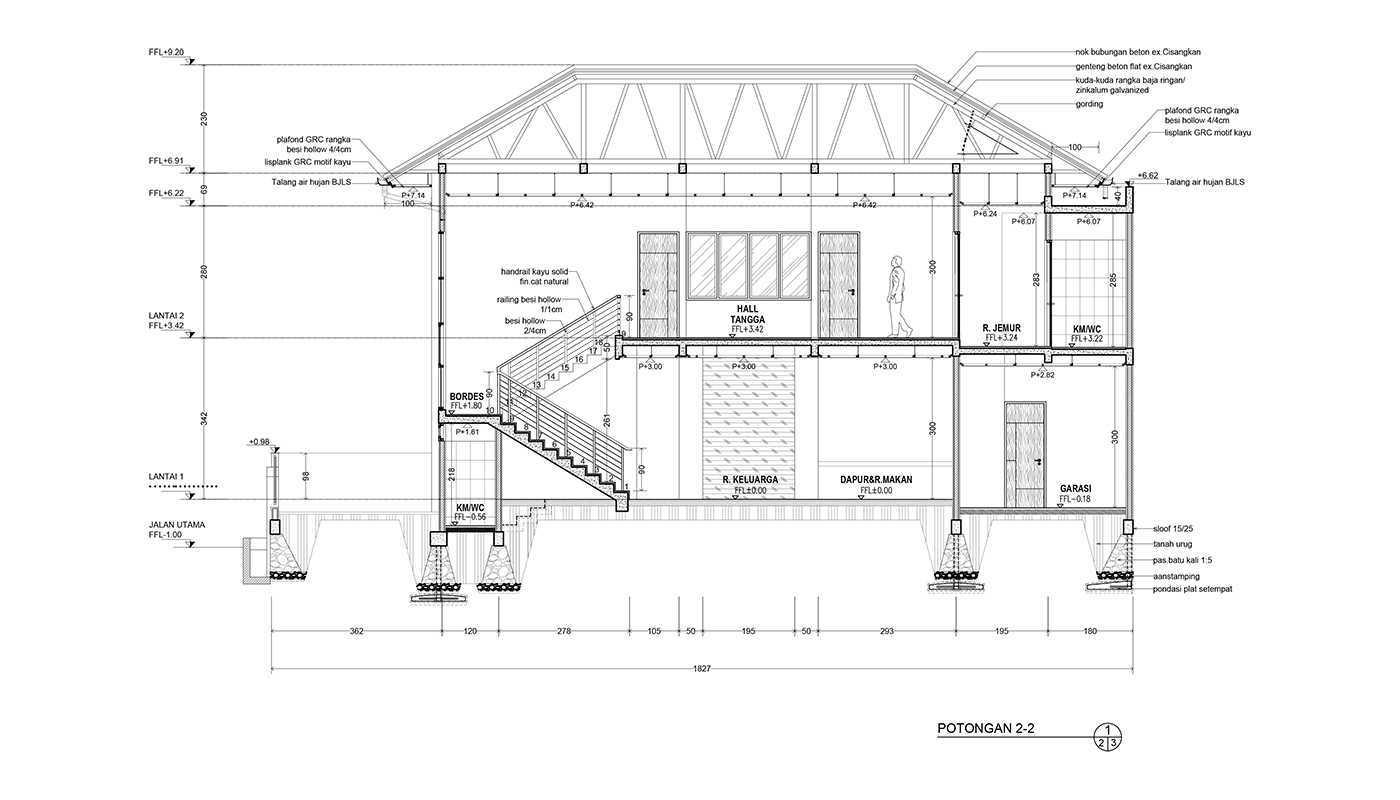 Rekabentuk Id N.y. House Bandung, Jawa Barat Bandung, Jawa Barat Potongan Modern  33506