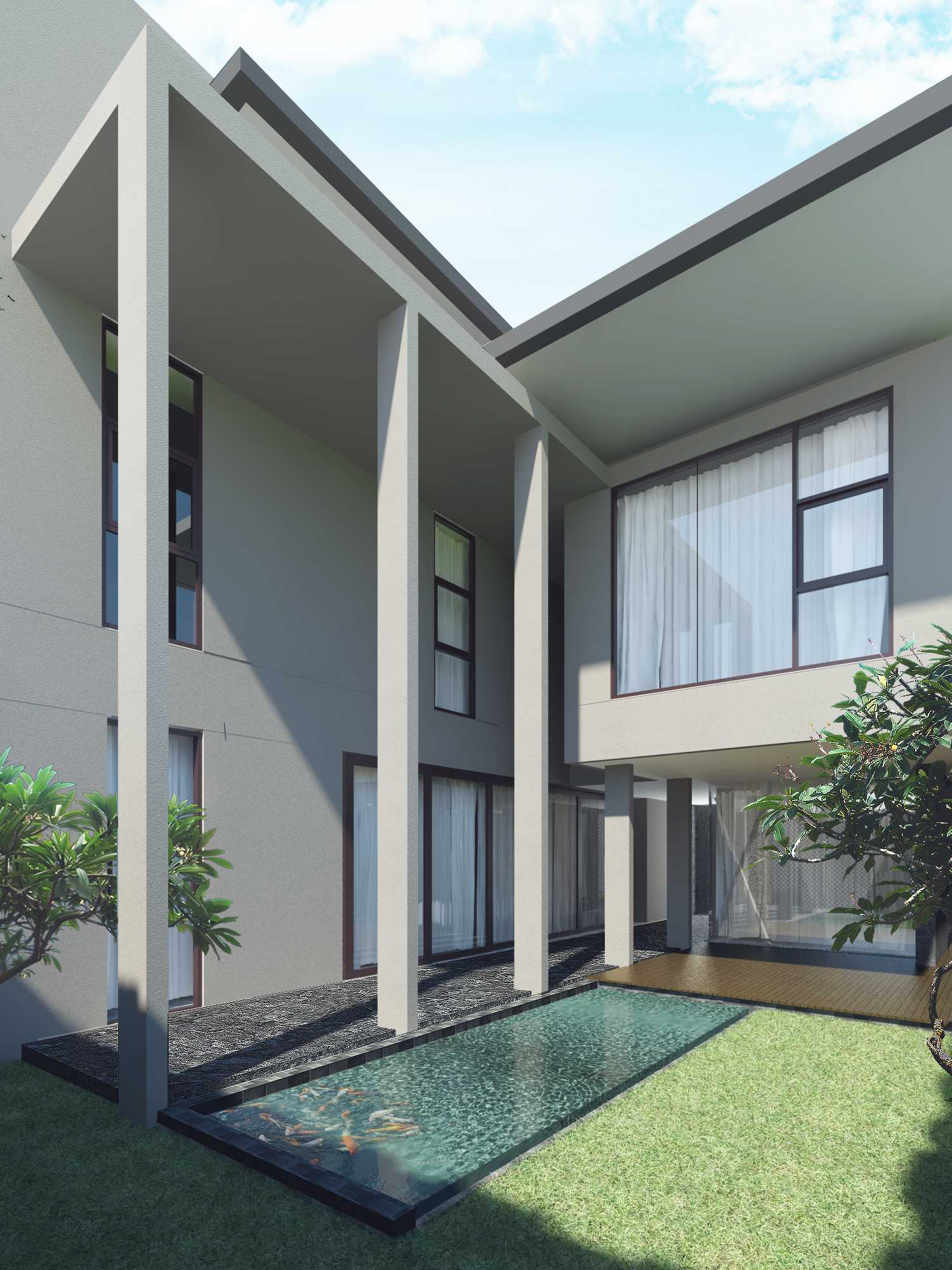 Pt. Modula The Canvas House Pondok Indah, Jakarta Pondok Indah, Jakarta The Backyard Modern  26639