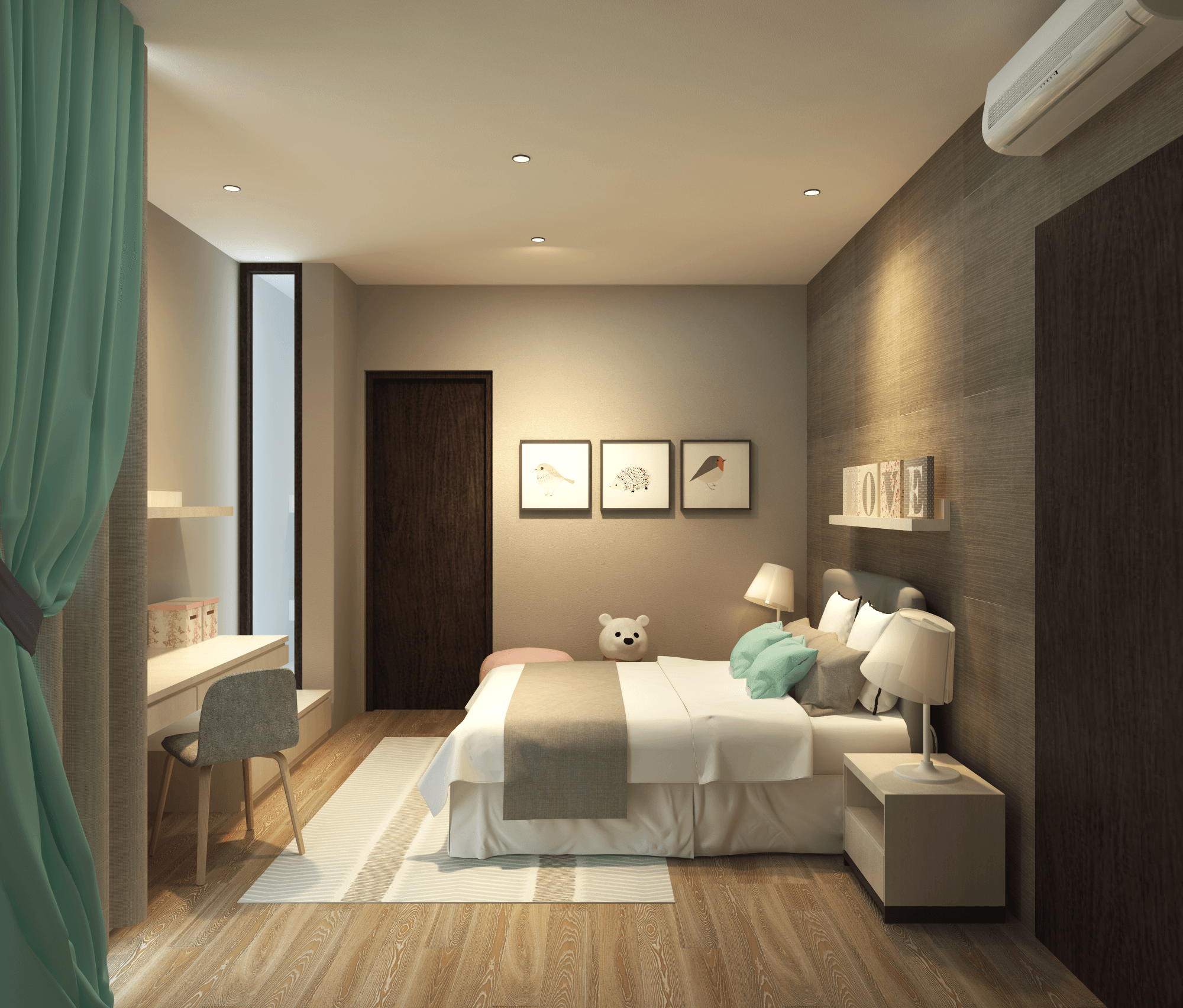 Pt. Modula The Canvas House Pondok Indah, Jakarta Pondok Indah, Jakarta The Children Bedroom Modern  26645