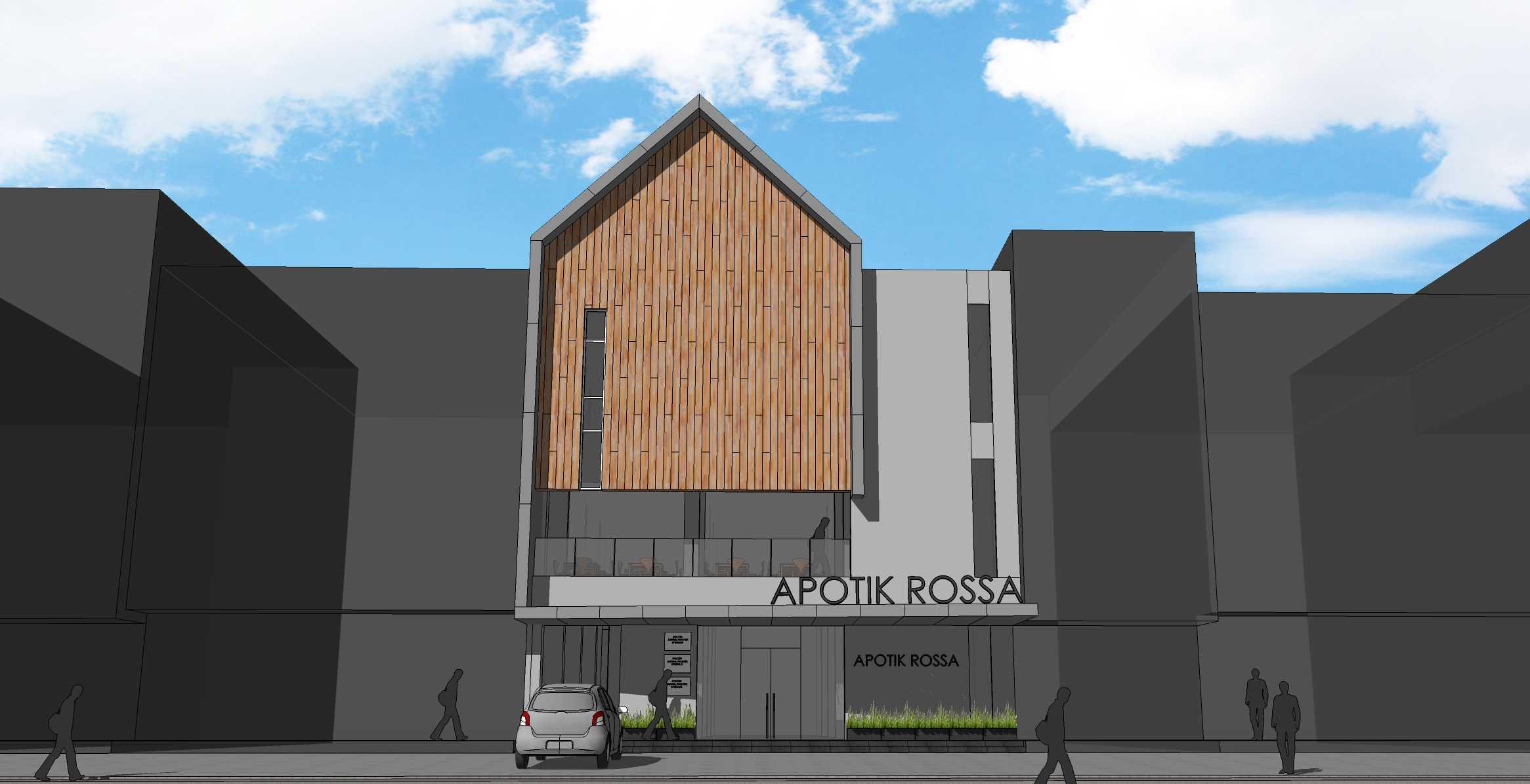 Pt. Modula Apotek Rossa Lampung Lampung Facade Modern  26864