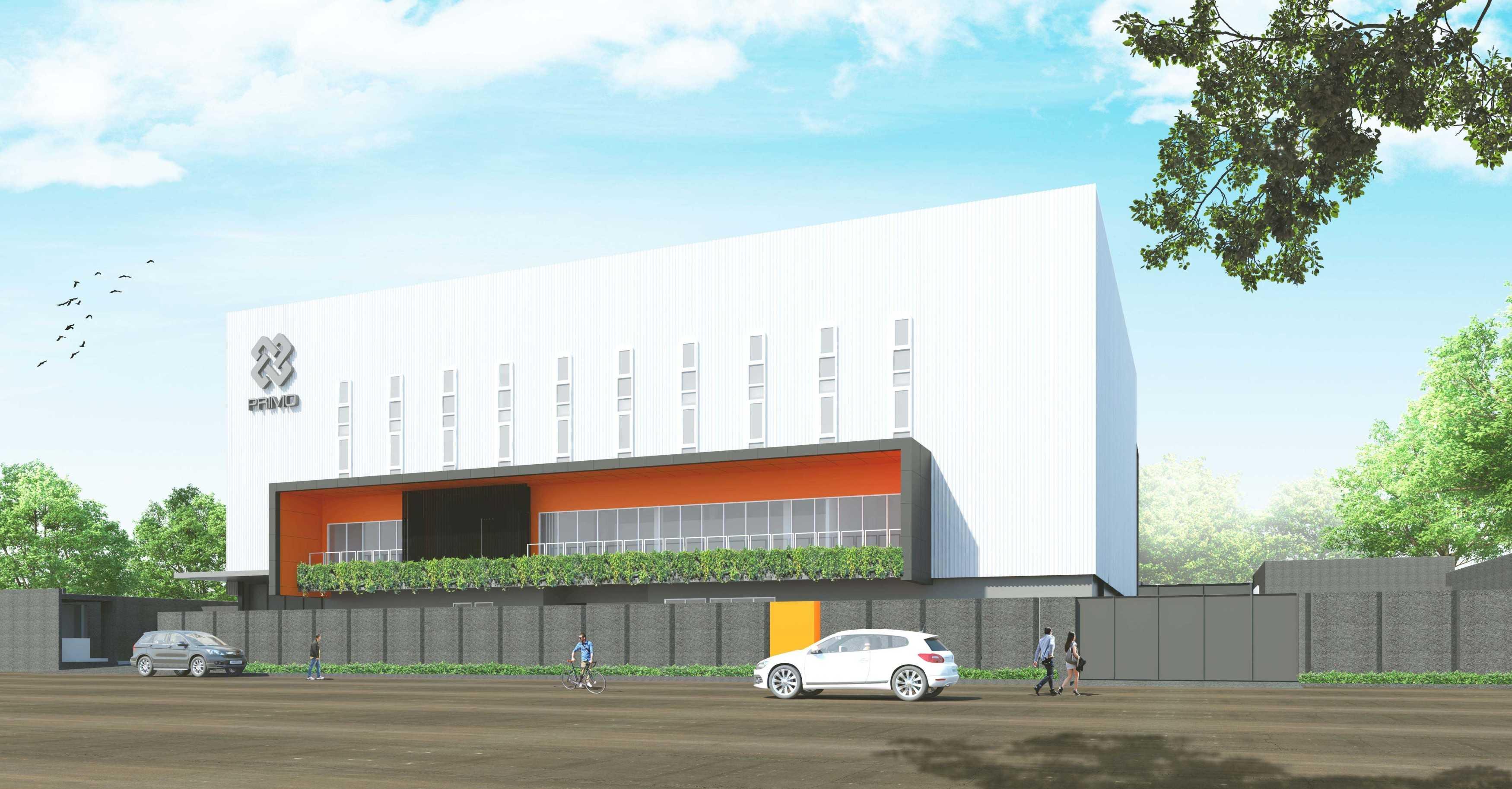 Pt. Modula P-Project At Tigaraksa Tangerang Tangerang Facade Industrial  26880