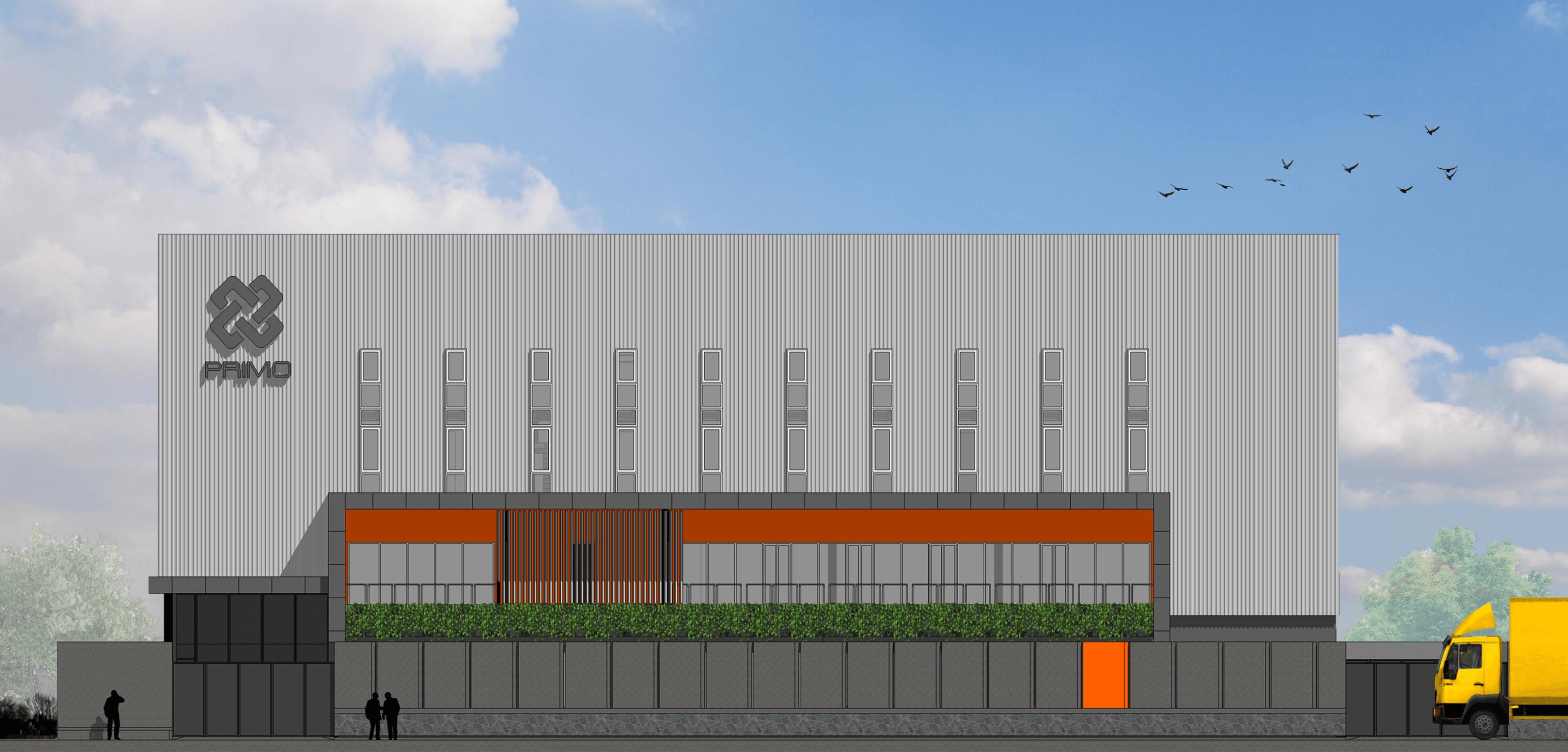 Pt. Modula P-Project At Tigaraksa Tangerang Tangerang Facade Industrial  27141