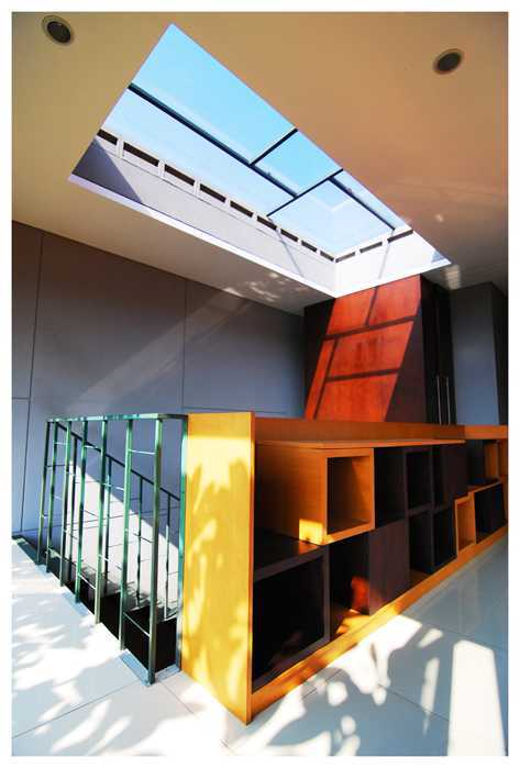 Imron Yusuf-Ifd Architects Slim House South Jakarta, South Jakarta City, Jakarta, Indonesia Cipete, South Jakarta Interior Tropis Furniture Also Functioning As The Railling 26546