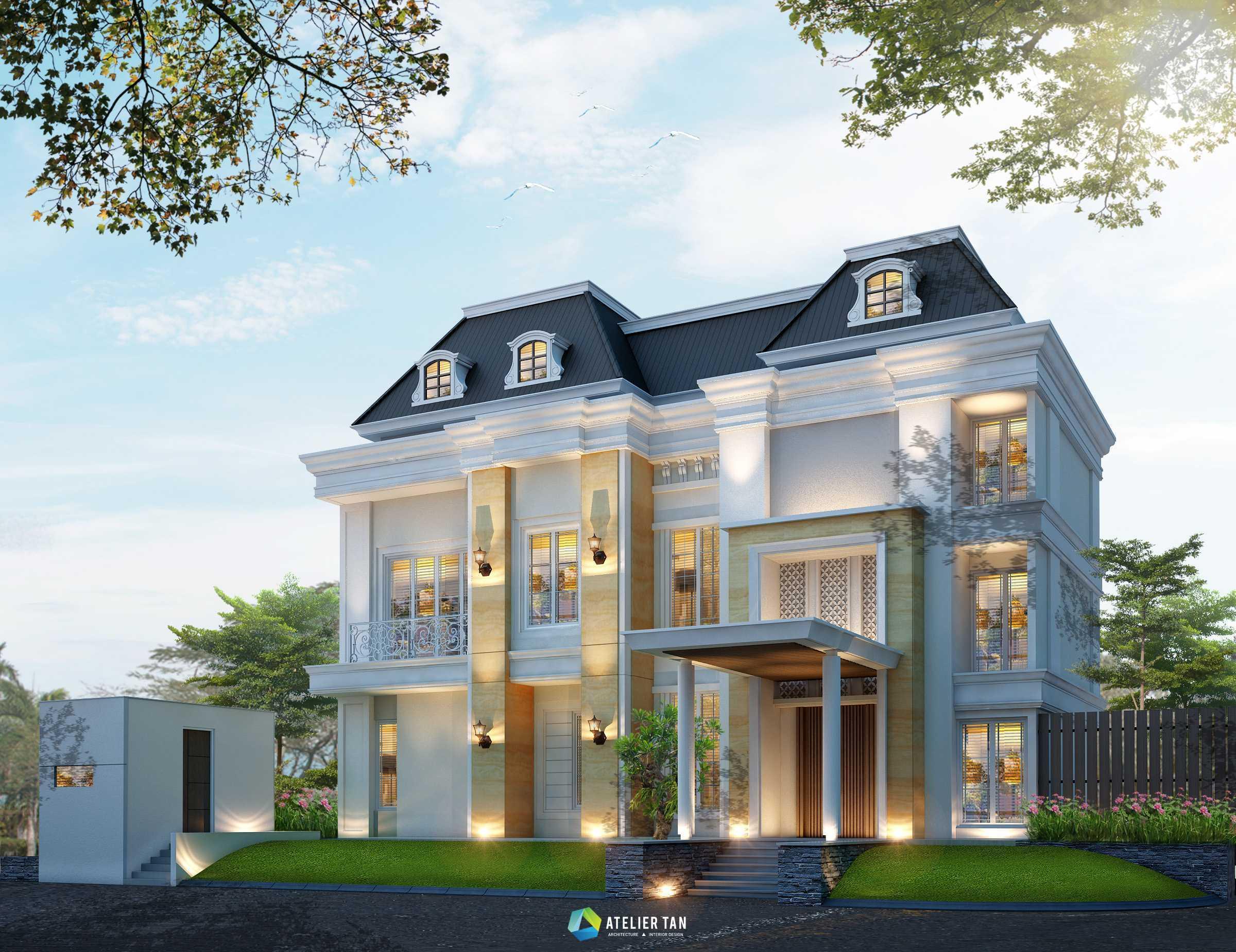Ateliertan W+H House Jakarta Jakarta Rumah-View-02 Klasik  44785
