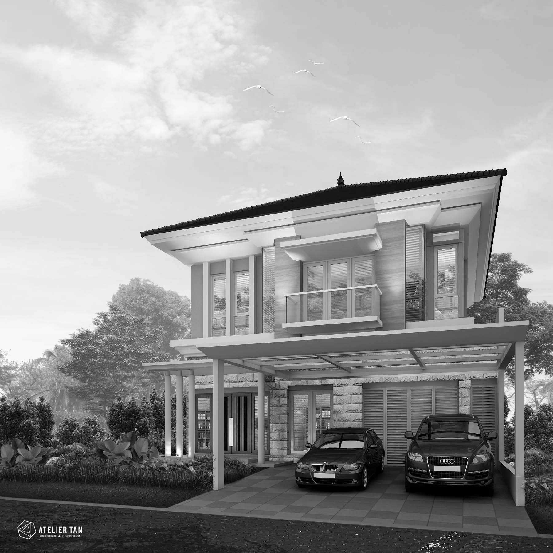 Ateliertan A+Y House Surabaya, Kota Sby, Jawa Timur, Indonesia  Ay-House-Upload Modern  44800