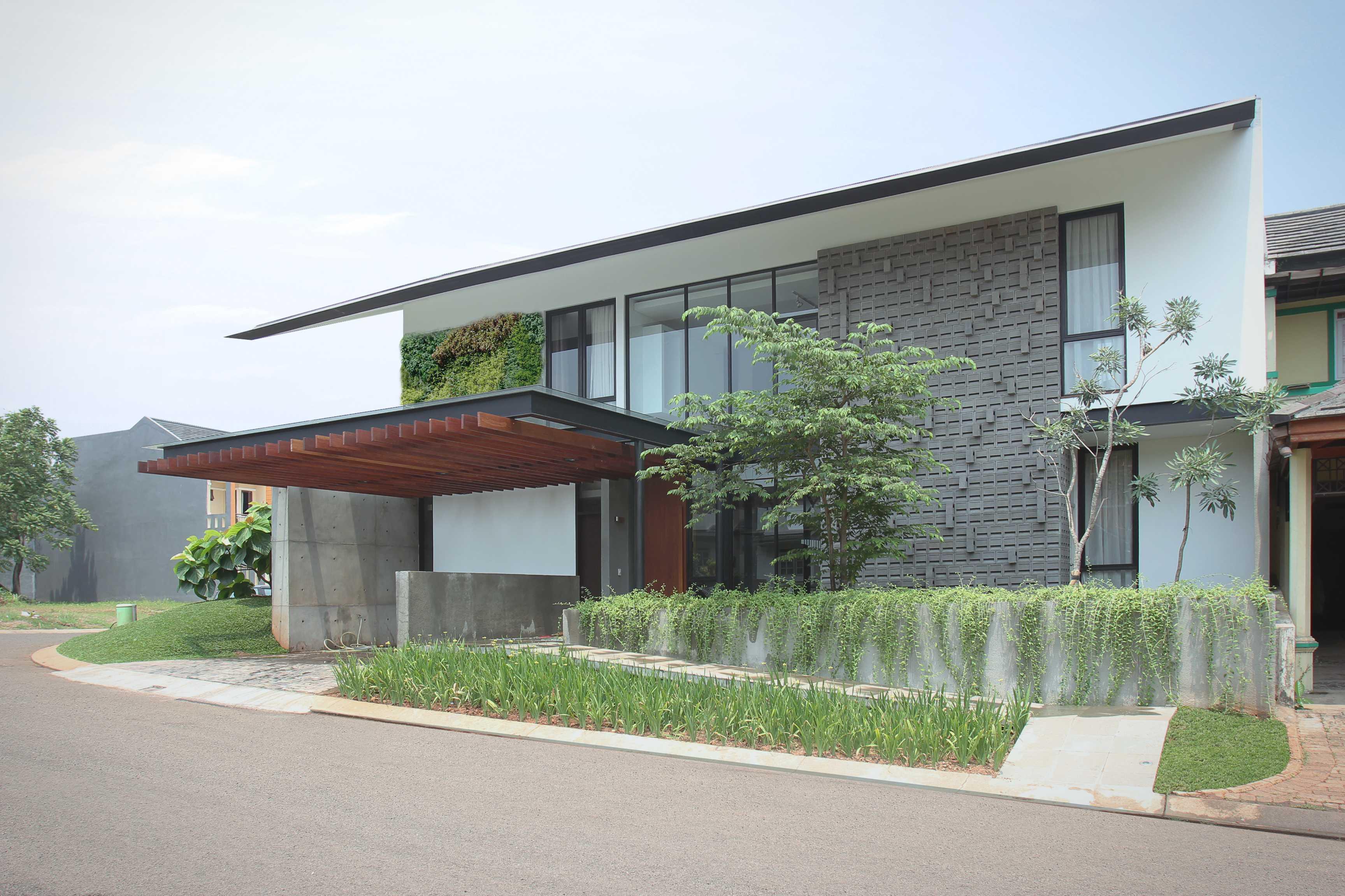 G+G Architect Studio H & I House Kota Wisata - Cibubur Kota Wisata - Cibubur Cibubur-House-1 Industrial,wood  26933