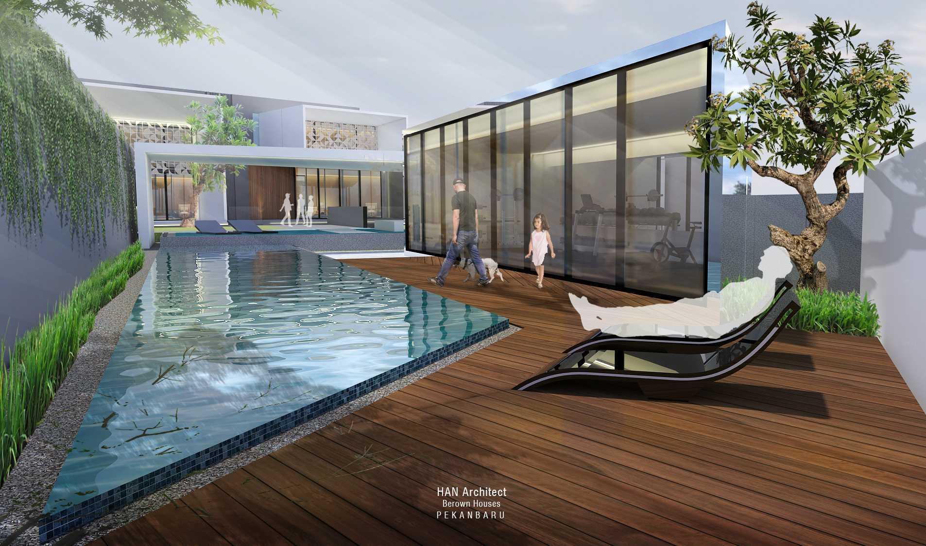 Han Architect Berown Houses Pekanbaru, Pekanbaru City, Riau, Indonesia Pekanbaru 4Jpg   27913