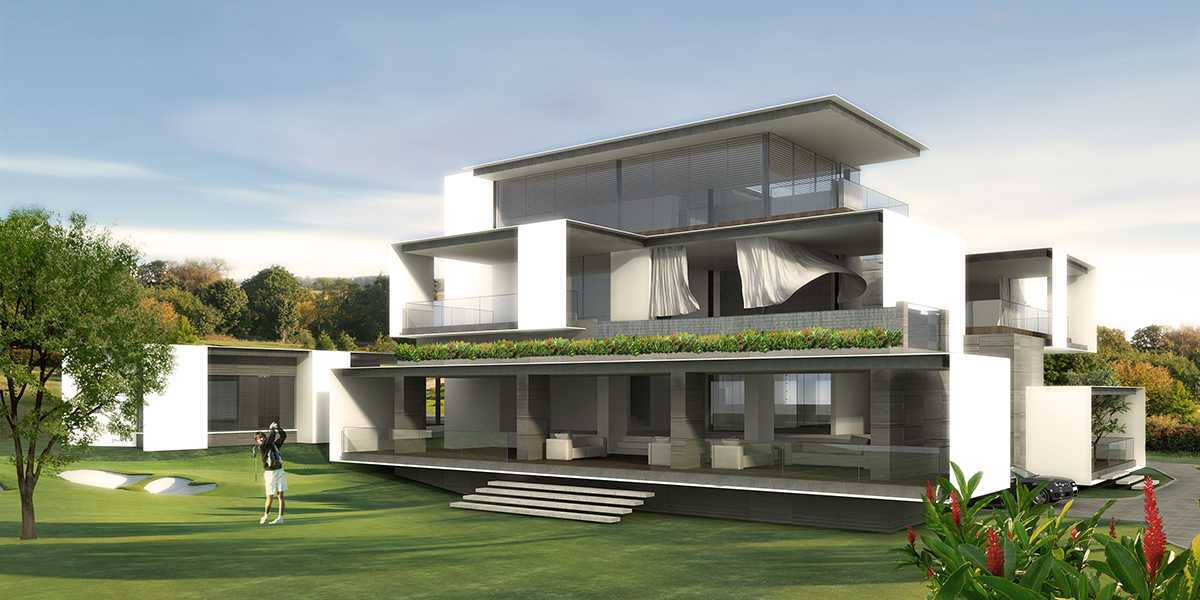 Spark Architects S Residence Palembang Palembang Golf-House-03-View-Towards-Patio-Clean Modern  28224