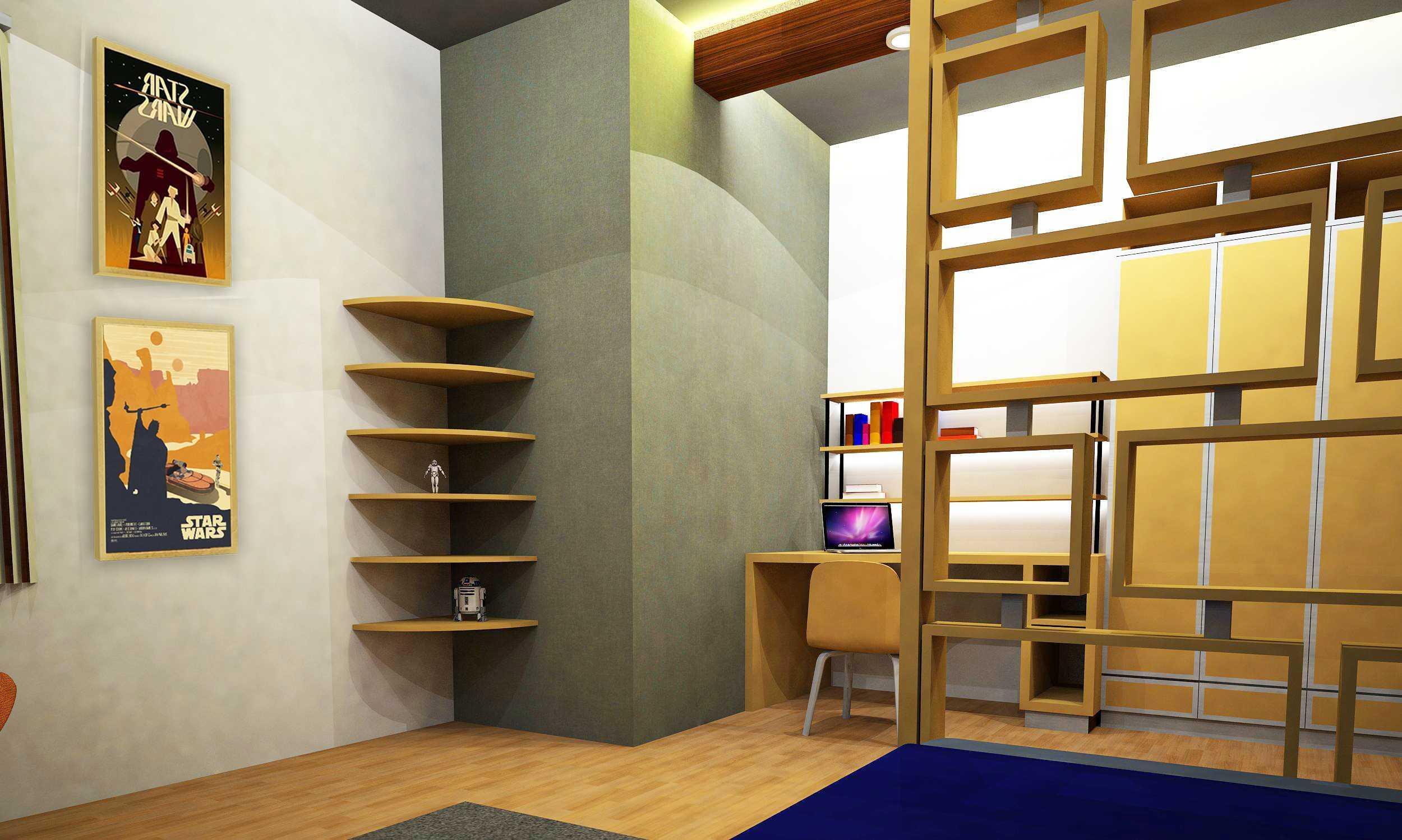 Wood Me Up Studio Star Wars Themed Bedroom Bandung Bandung Star-Wars-Retro-Style-Bedroom-2 Kontemporer  28414