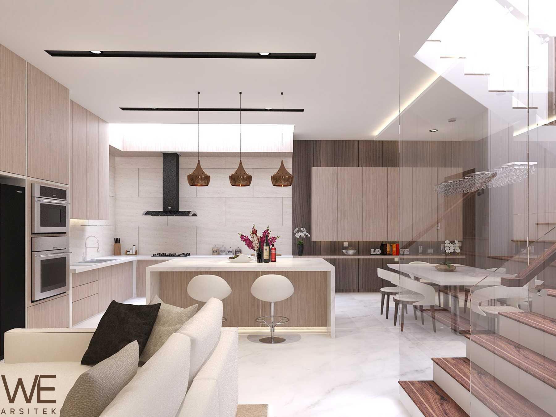 We Arsitek Li Residence - Contemporary Kota Medan, Sumatera Utara, Indonesia Kota Medan, Sumatera Utara, Indonesia Dapur   45716