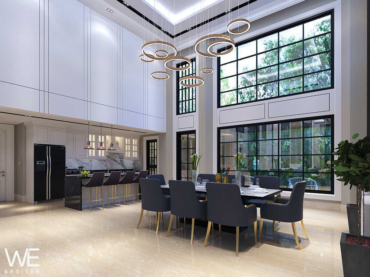 We Arsitek Grand City Residence - Tropical Contemporary Medan, Kota Medan, Sumatera Utara, Indonesia Medan, Kota Medan, Sumatera Utara, Indonesia Dining Area   45736