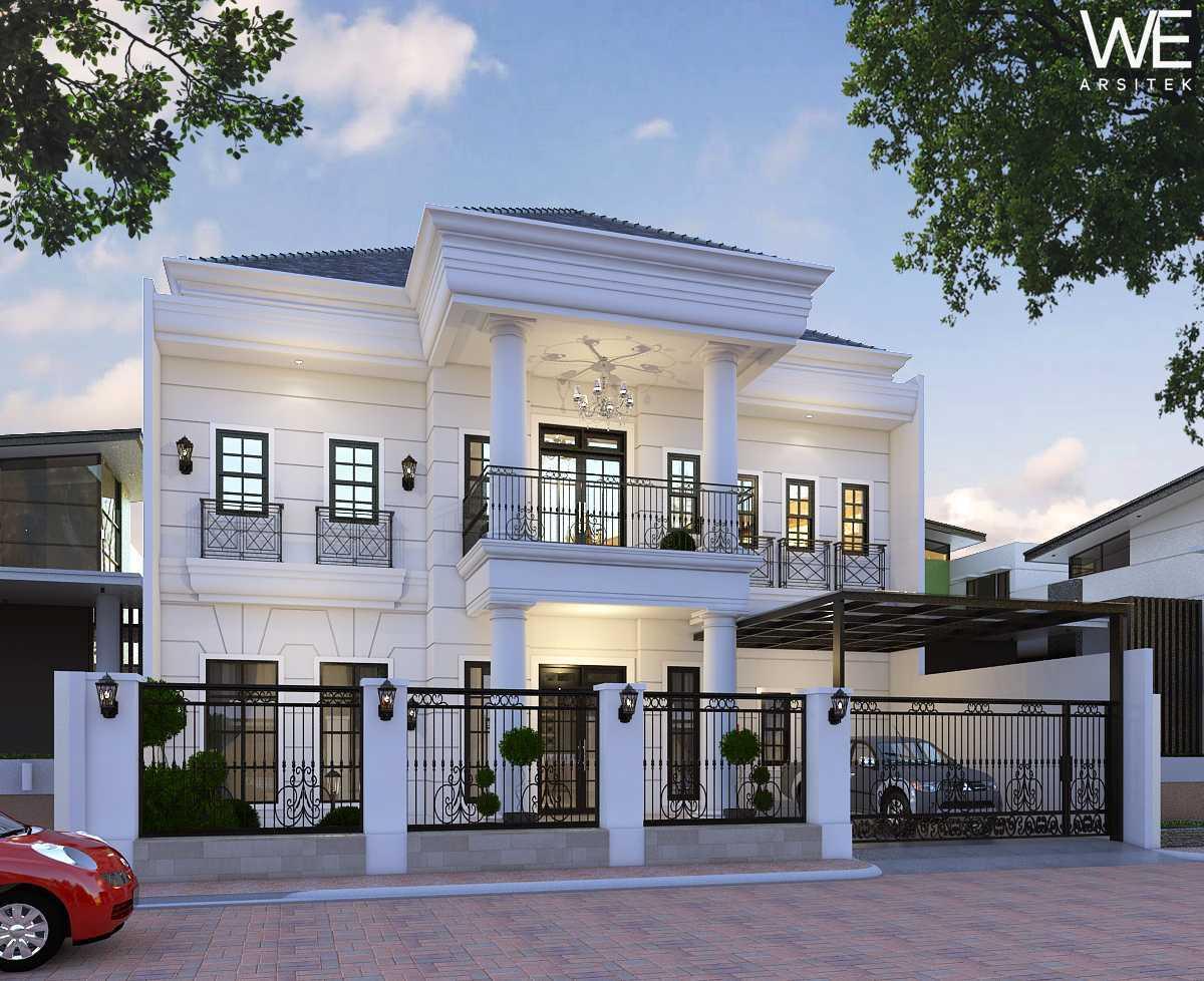 We Arsitek Jh's Residence - Classic Style Medan, Kota Medan, Sumatera Utara, Indonesia Medan, Kota Medan, Sumatera Utara, Indonesia Facade View Classic  45807