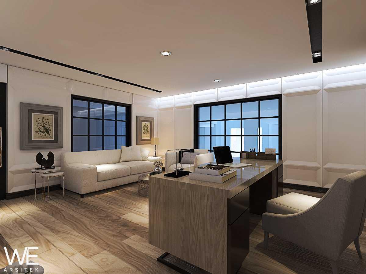 We Arsitek Wh's Residence - Contemporary Style Medan, Kota Medan, Sumatera Utara, Indonesia Medan, Kota Medan, Sumatera Utara, Indonesia Office Room   45823