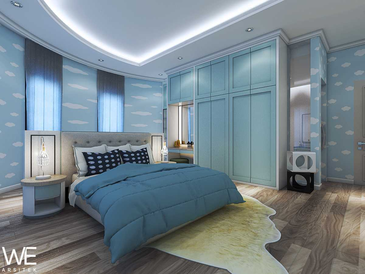 We Arsitek Wh's Residence - Contemporary Style Medan, Kota Medan, Sumatera Utara, Indonesia Medan, Kota Medan, Sumatera Utara, Indonesia Master Bedroom   45828