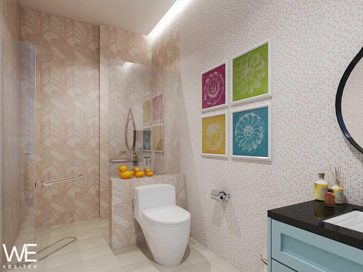 We Arsitek Wh's Residence - Contemporary Style Medan, Kota Medan, Sumatera Utara, Indonesia Medan, Kota Medan, Sumatera Utara, Indonesia Kids Bathroom   45832
