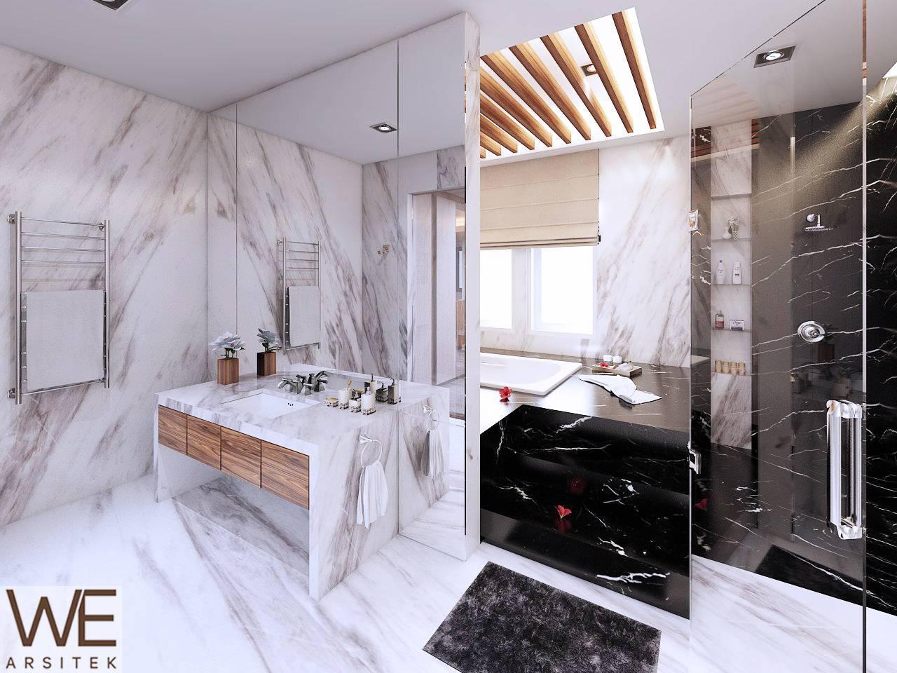 We Arsitek Lim Residence Medan Medan Lt-2-Bathroom Kontemporer  5048