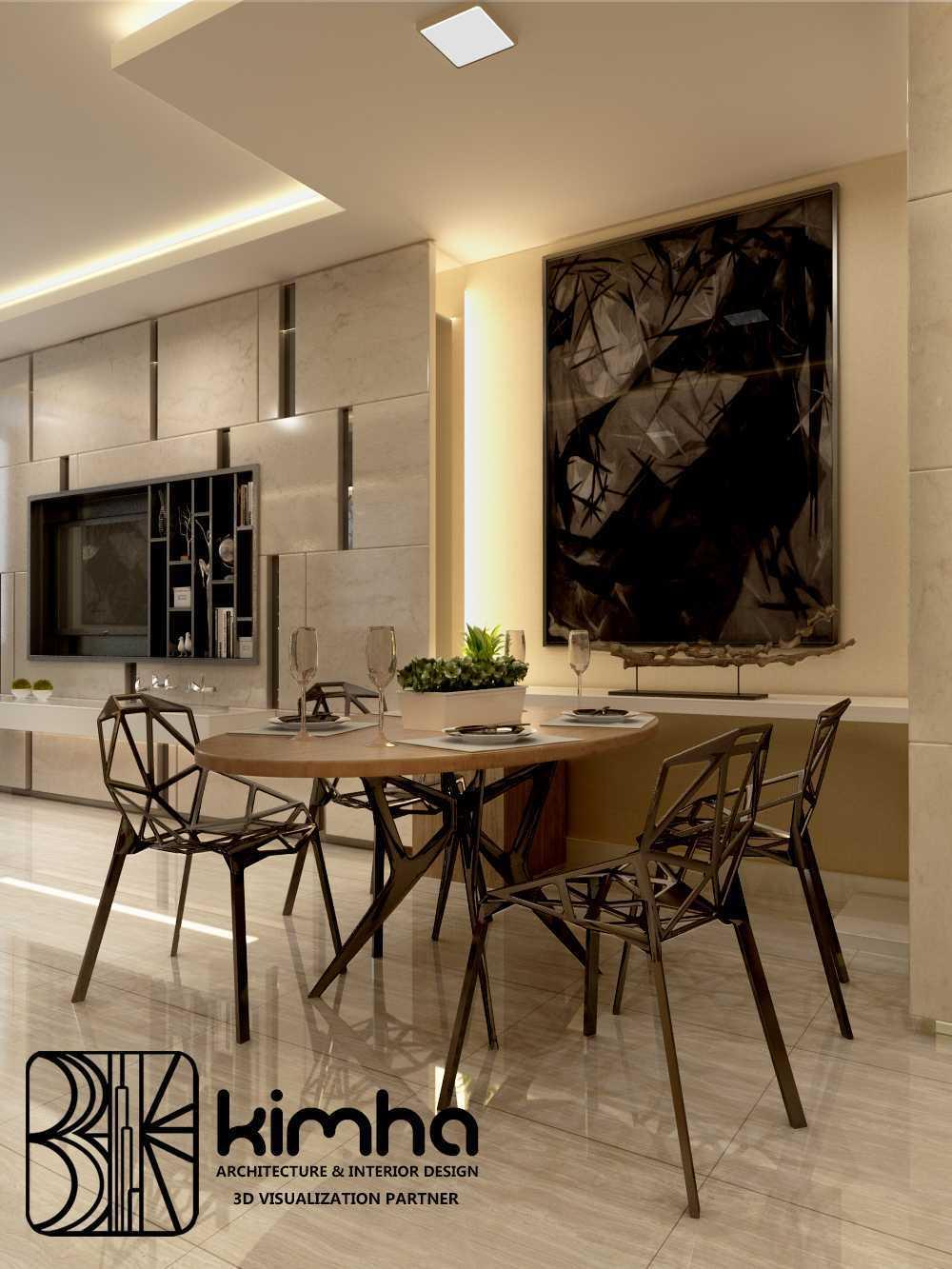 Photo Apartement Taman Anggrek Dinning Room Apartment Taman