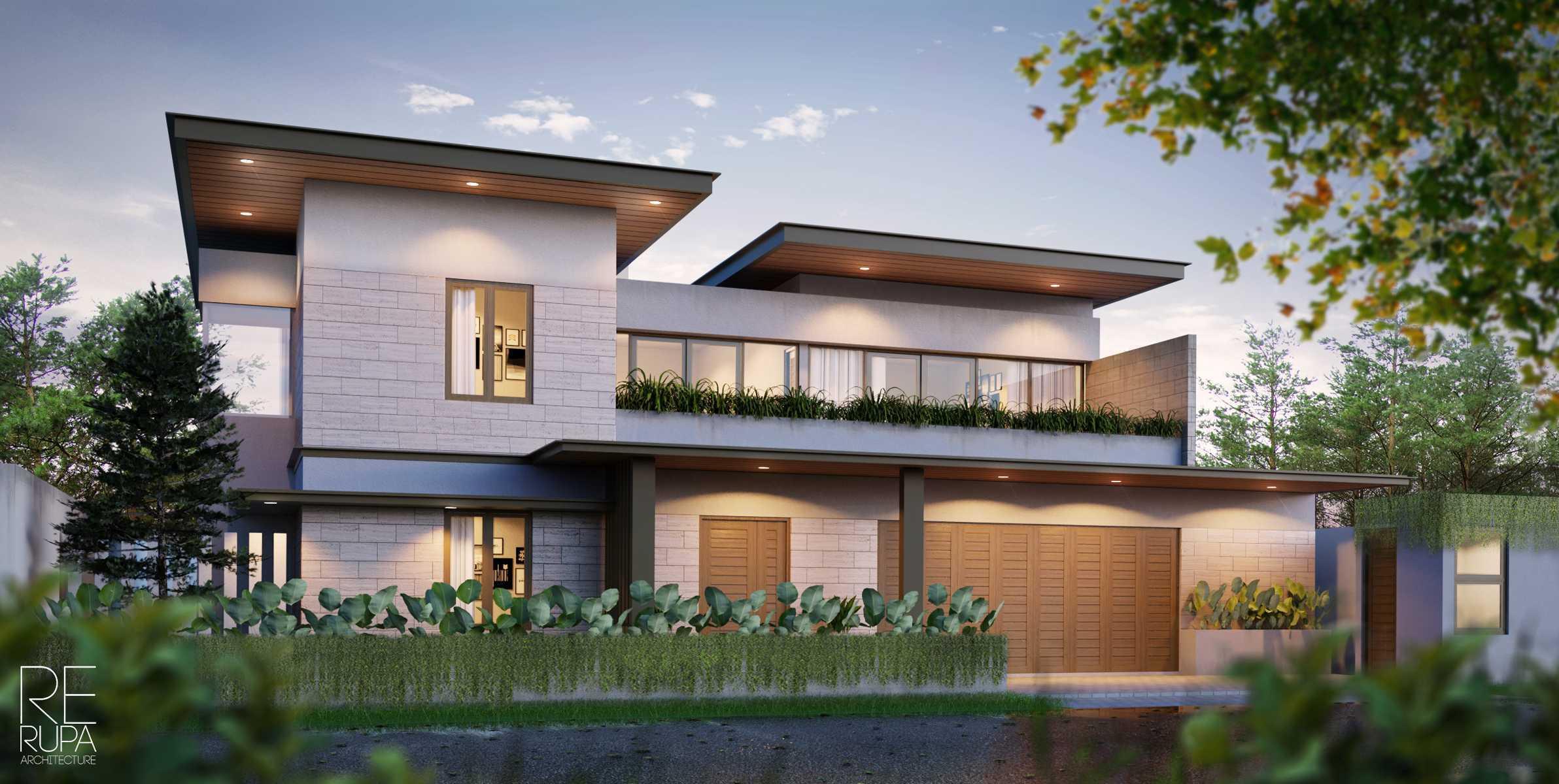 Rerupa Architecture Mr. Dw House Kota Kupang, Nusa Tenggara Tim., Indonesia Kota Kupang, Nusa Tenggara Tim., Indonesia 170724Render-Rumah-Donny2 Modern  37003